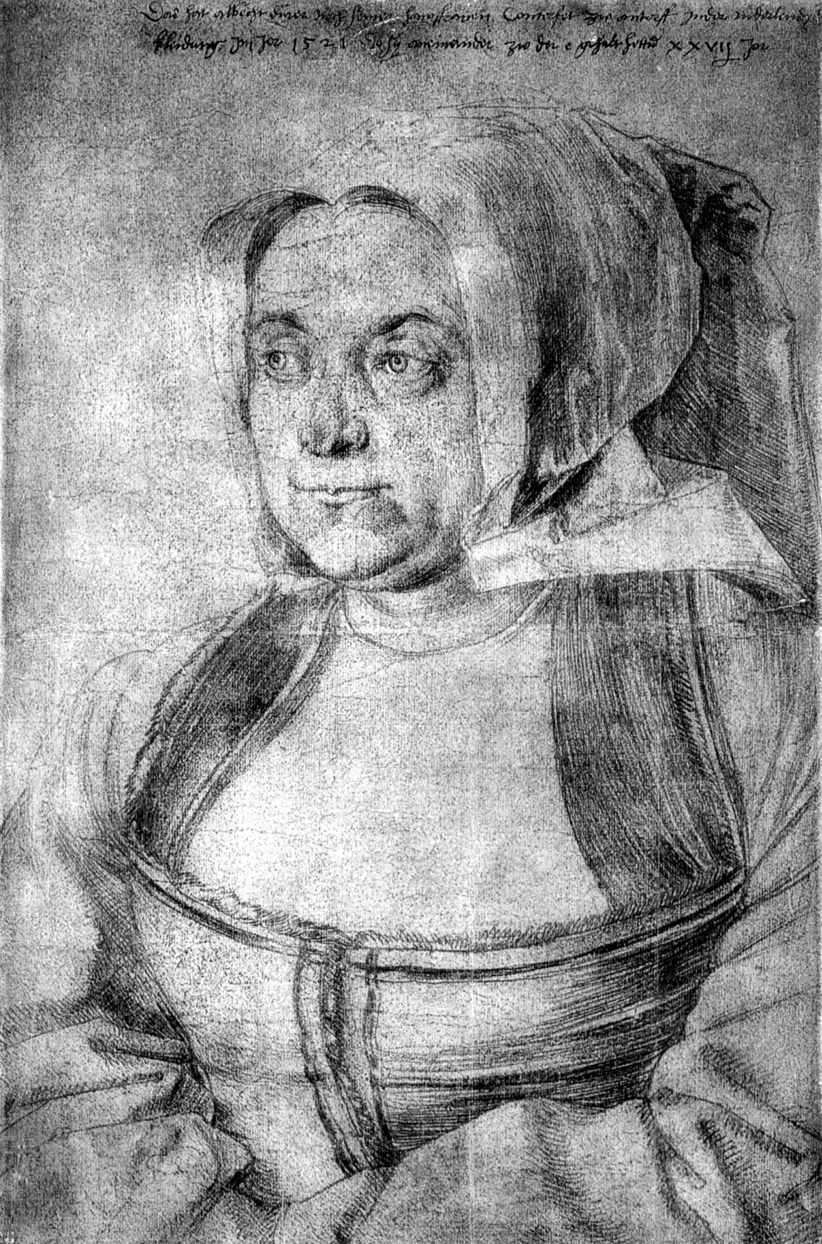 Albrecht Dürer. Agnes Dürer
