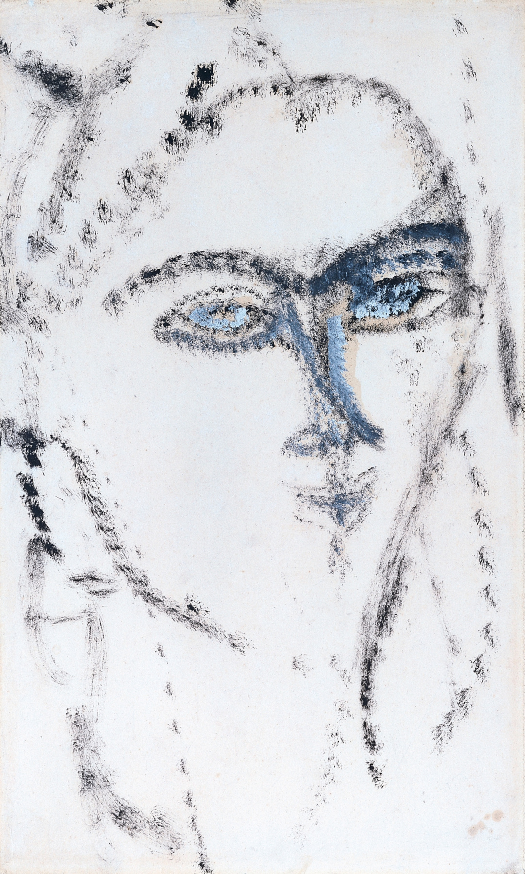 Amedeo Modigliani. The woman's face