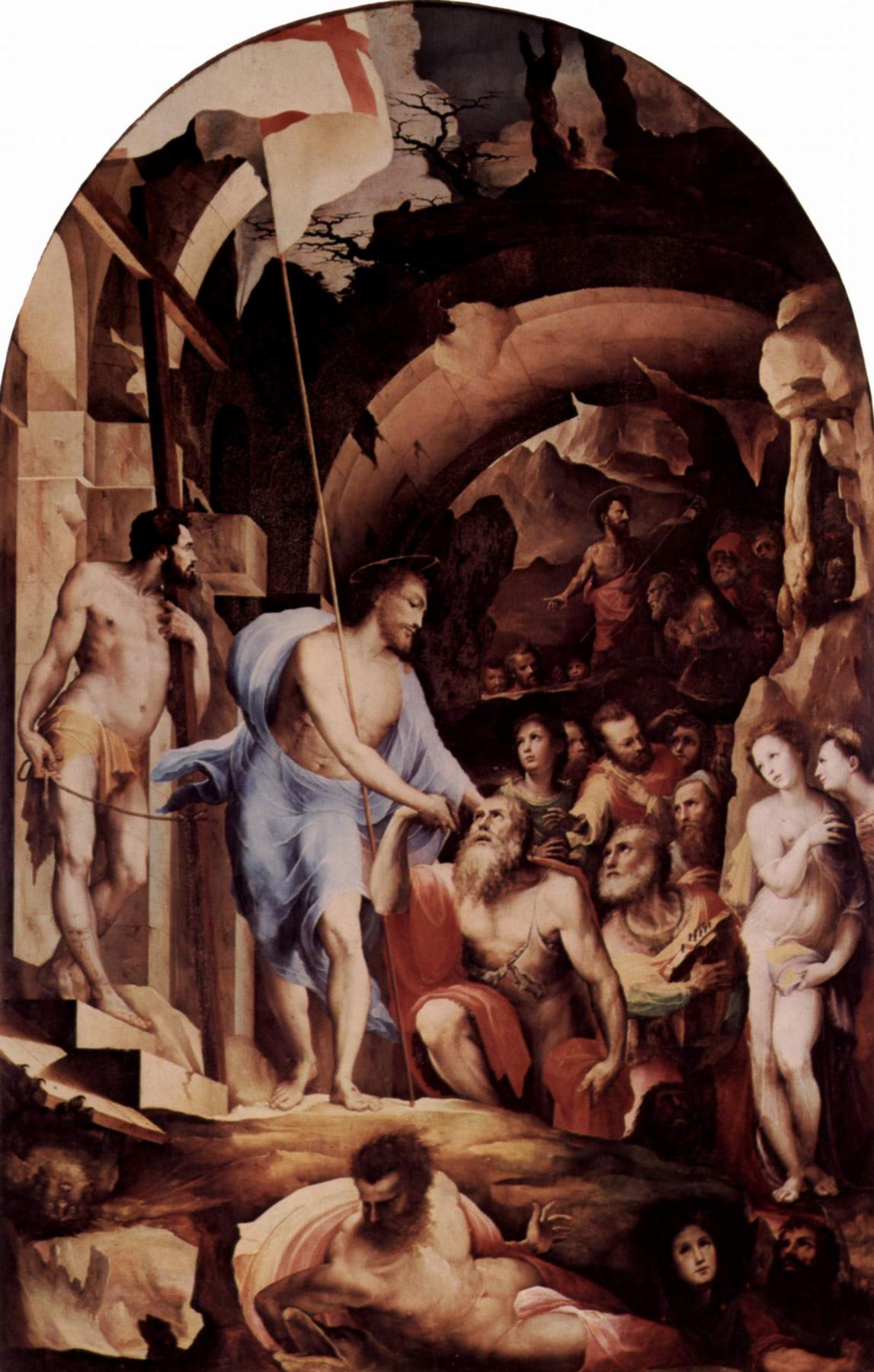 Domenico Beccafumi. The descent into hell