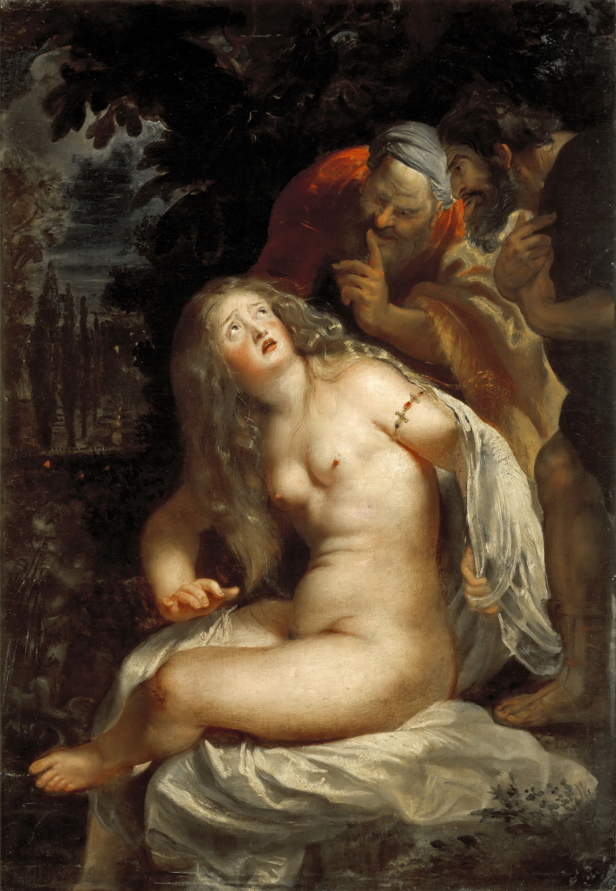 Peter Paul Rubens. Susanna and the elders