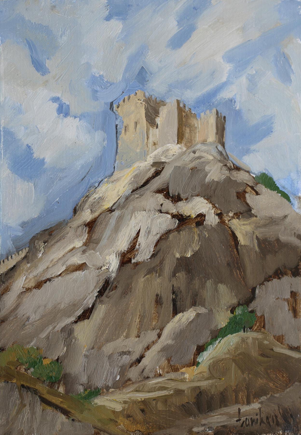 Tanika Yezhova. Genoese fortress