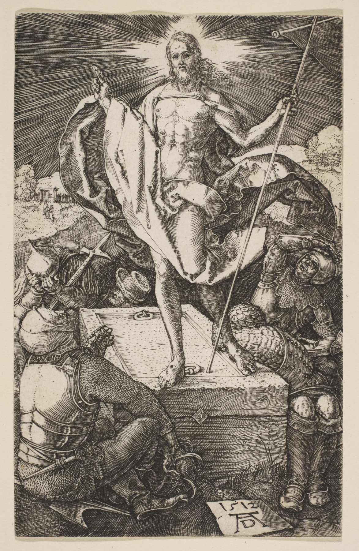 "Albrecht Dürer. The Resurrection Of Christ. From the cycle ""the passion of the Christ"""