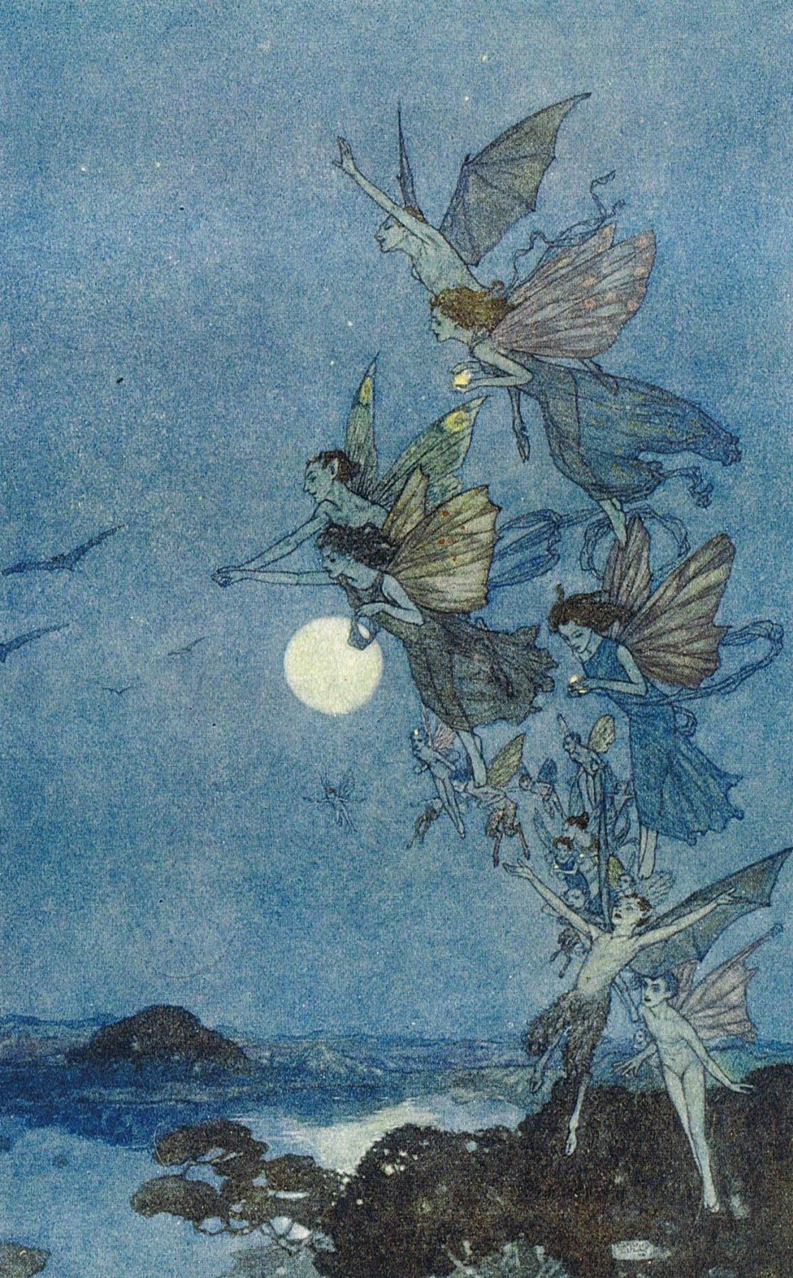 Эдмунд Дюлак. Маленькие феи