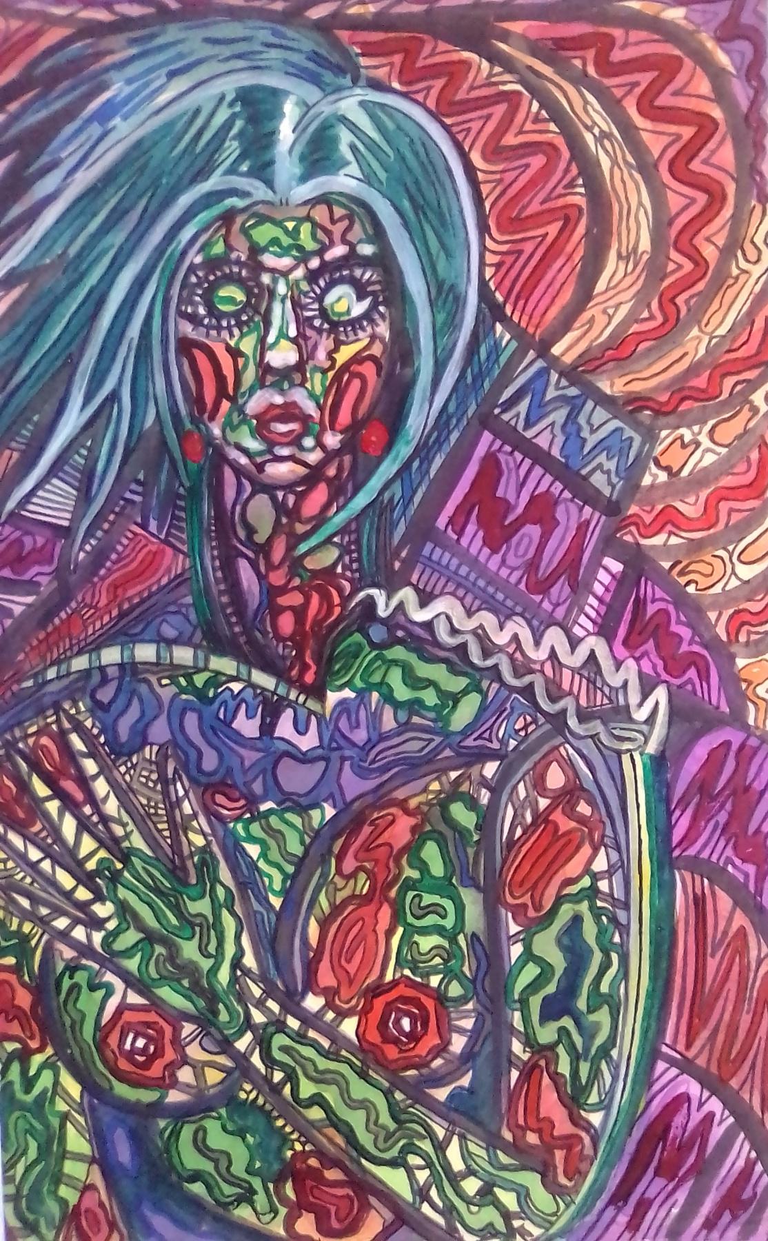 Вячеслав Коренев. Abstract figure