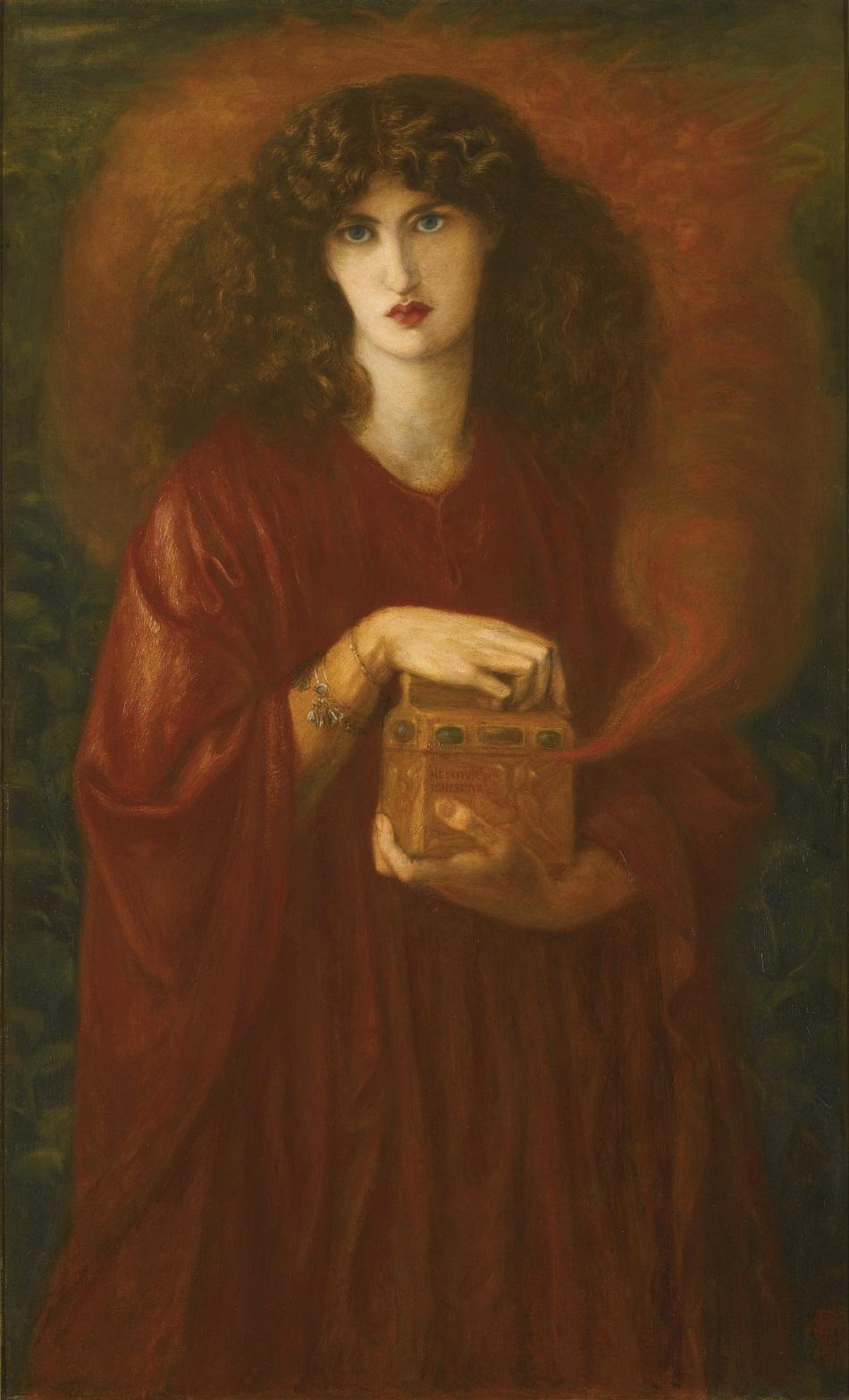 Dante Gabriel Rossetti. Pandora