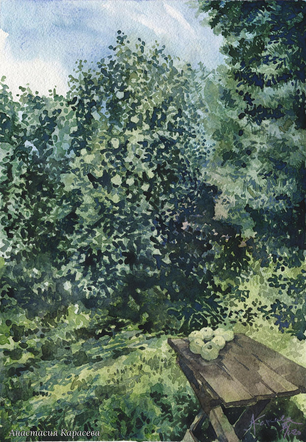 Anastasia Karaseva. White filling