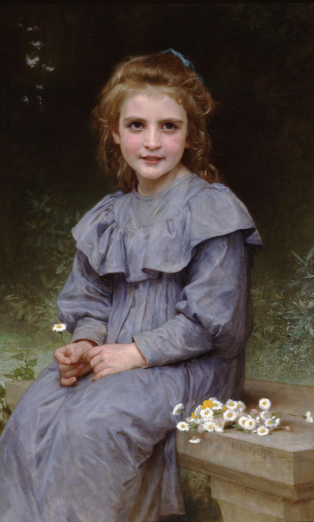 William-Adolphe Bouguereau. Chamomile