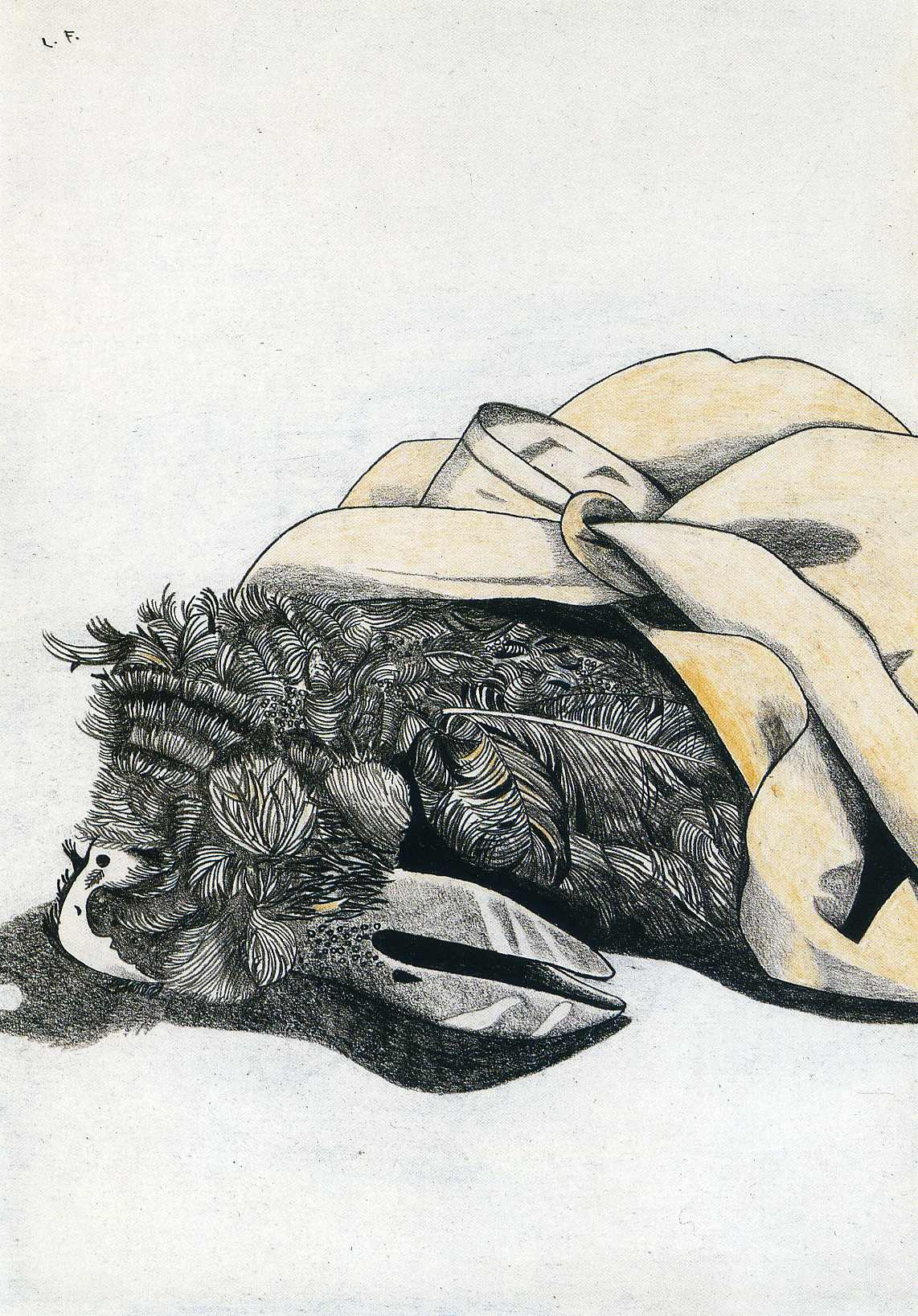 Lucien Freud. Untitled