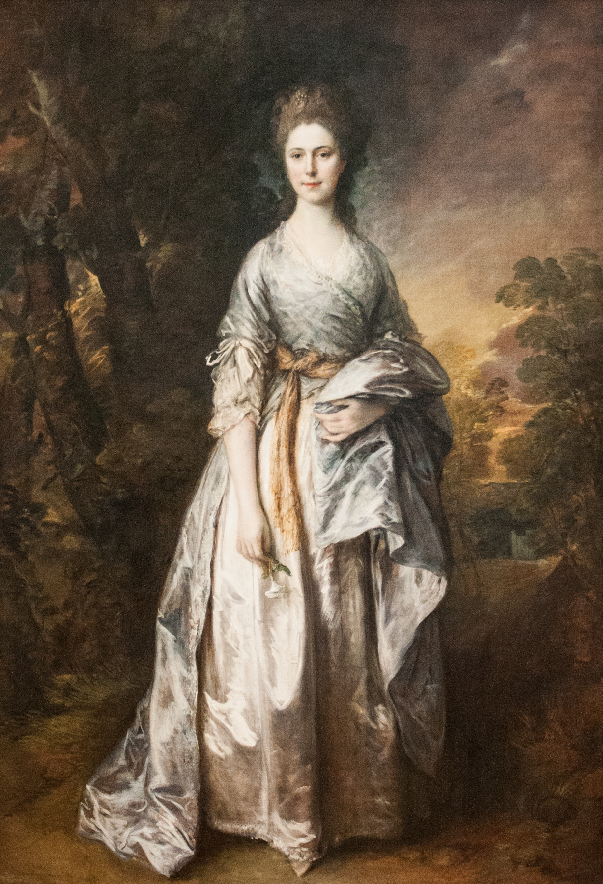 Thomas Gainsborough. Portrait of Maria, lady Eardley
