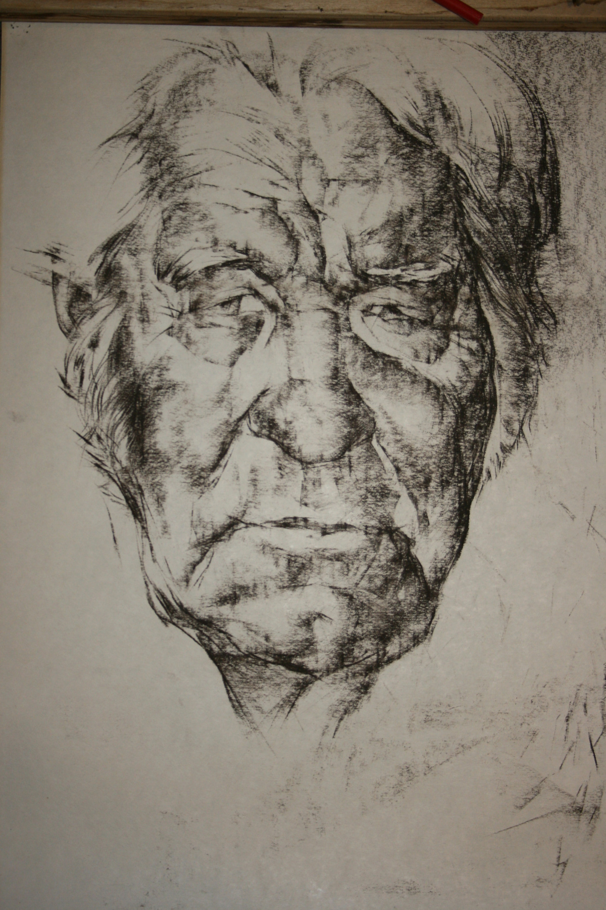 Alexander Alexandrovich Martemyanov. Portrait of a father