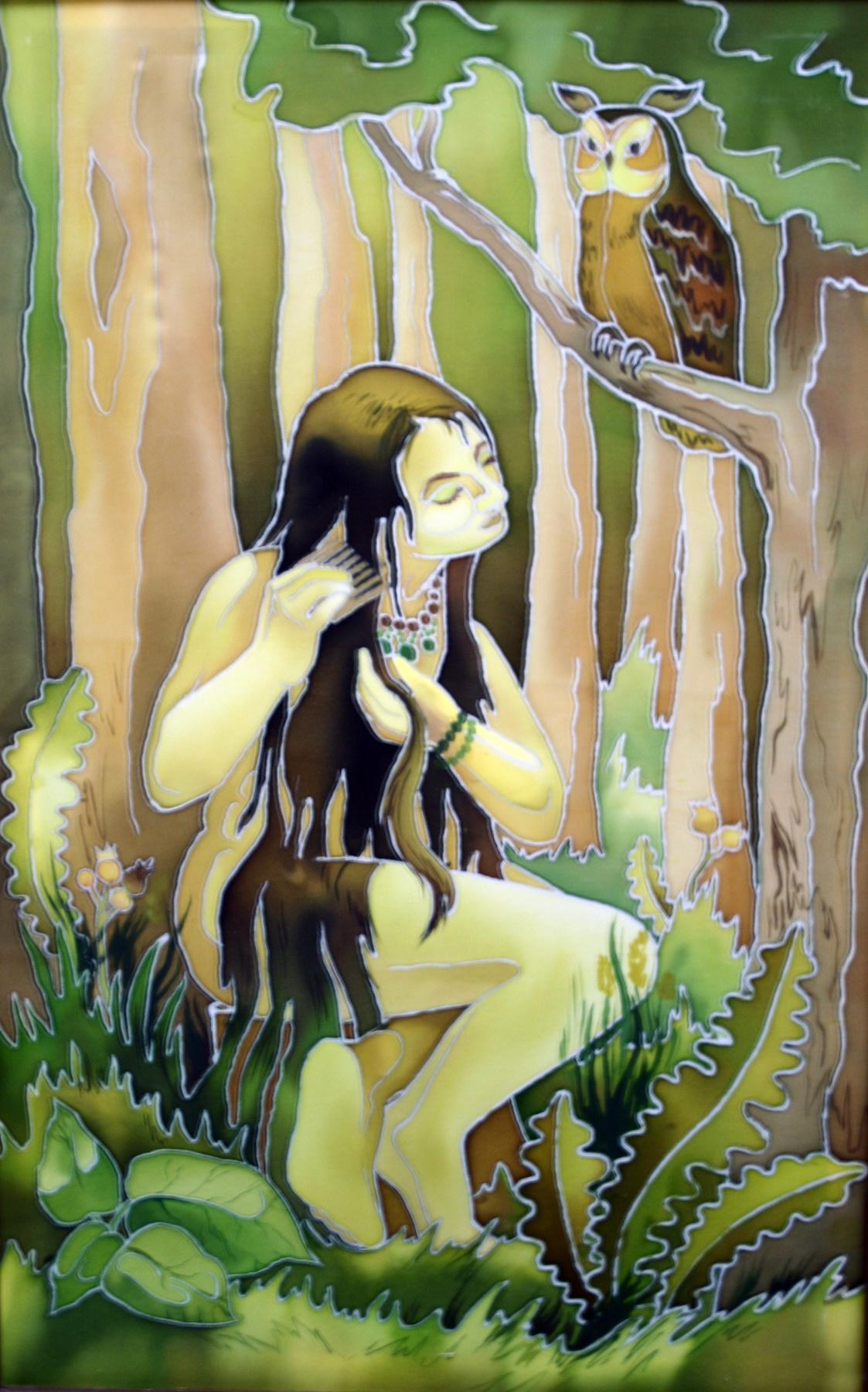 Violetta Valerievna Mitina. Goddess of the forest