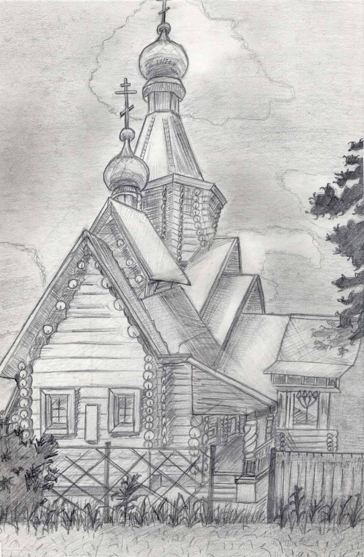 Polina. Church in Upper Sysert
