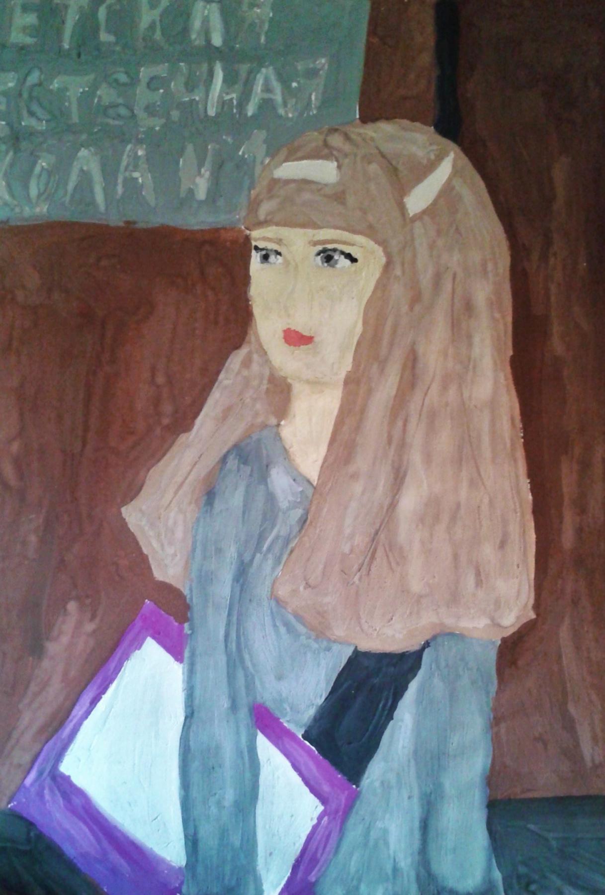 Zina Vladimirovna Parisva. Self-portrait
