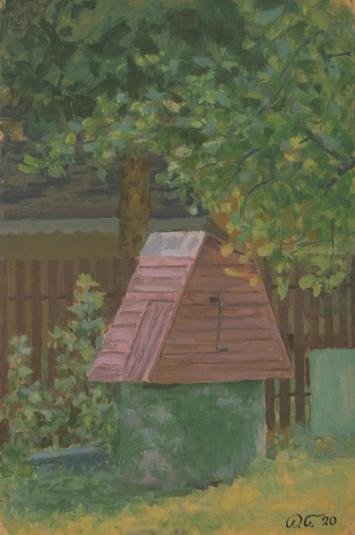 Denis Aleksandrovich Glindeman. Etude. cottage source