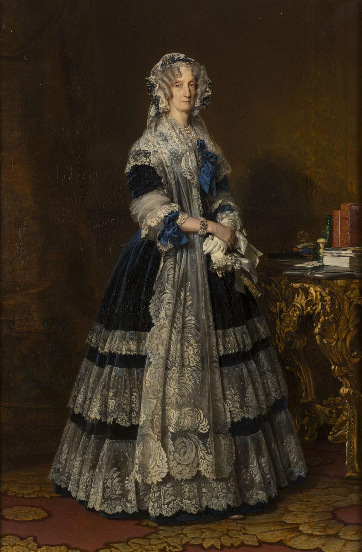 Franz Xaver Winterhalter. Maria Amalia de Bourbon, Queen of France