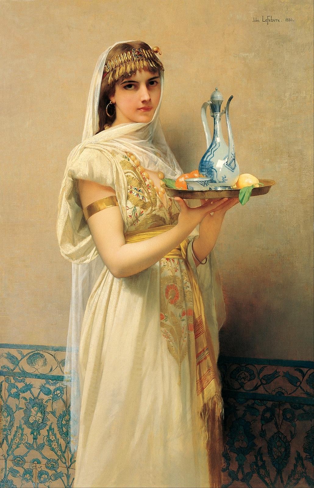 Jules Joseph Lefebvre. The maid. 1880