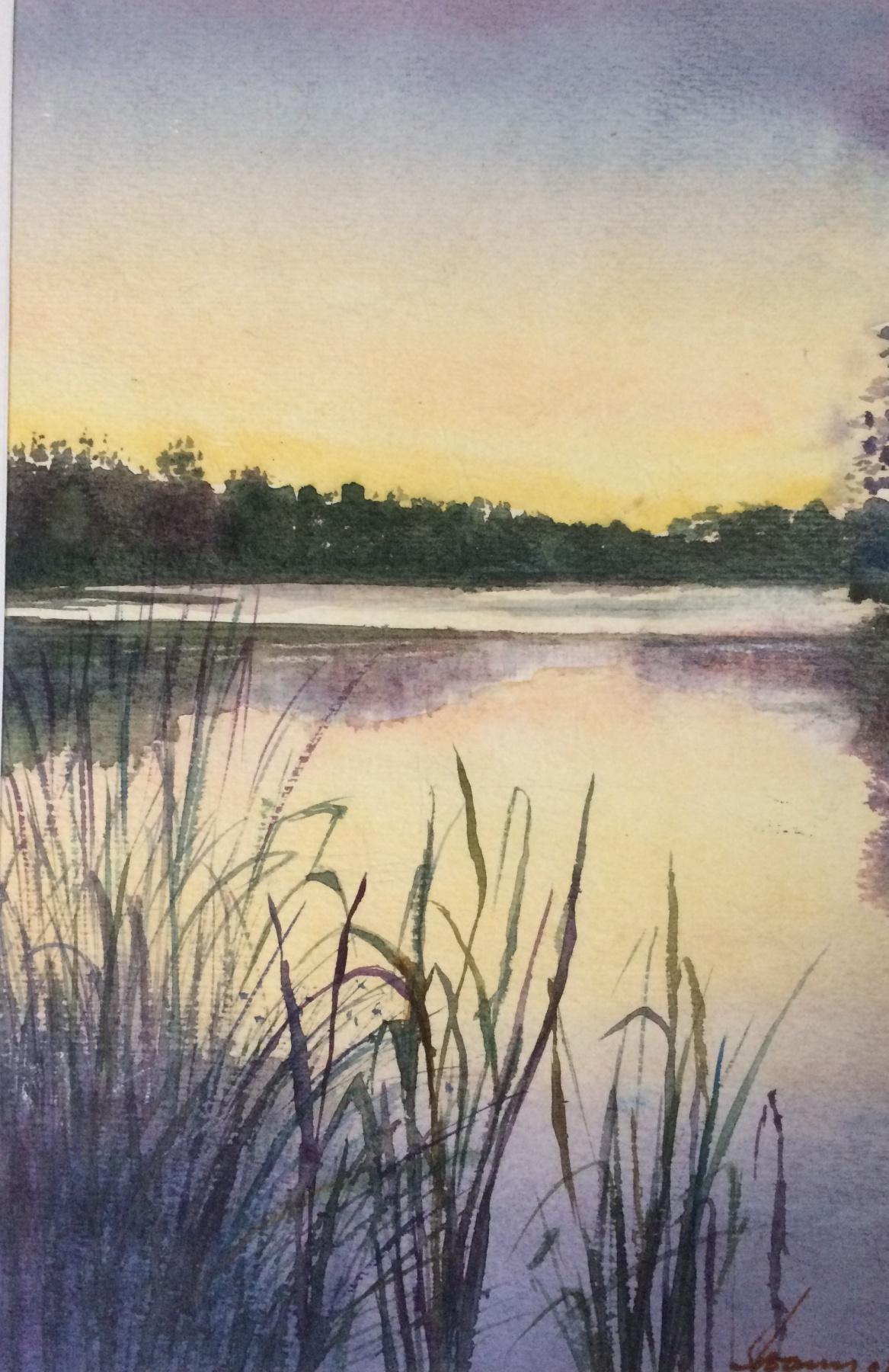 Alexey Pavlovich Moskalenko. Lake