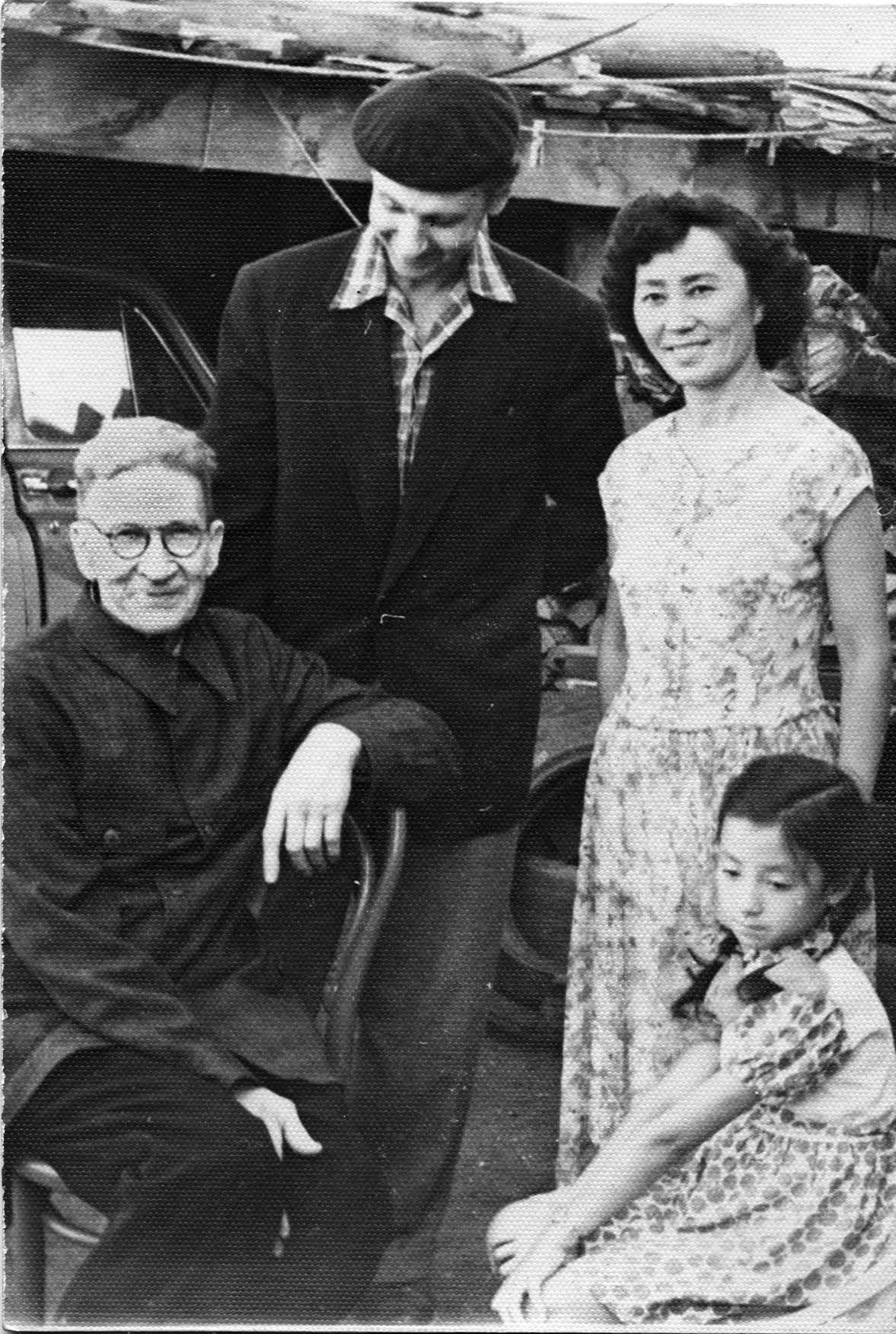 Nadezhda Nikolaevna Rusheva. Family Rosewich and Vladimir Ermolaev. Tuva