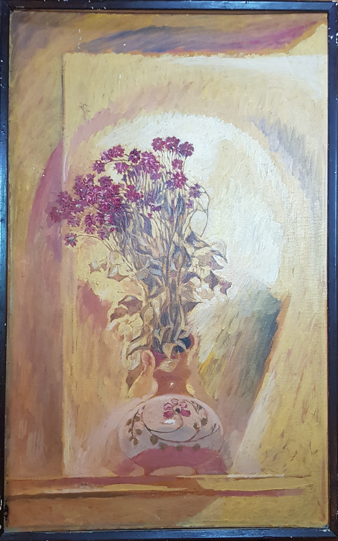 Yuri Semenovich Evseev. Withered bouquet