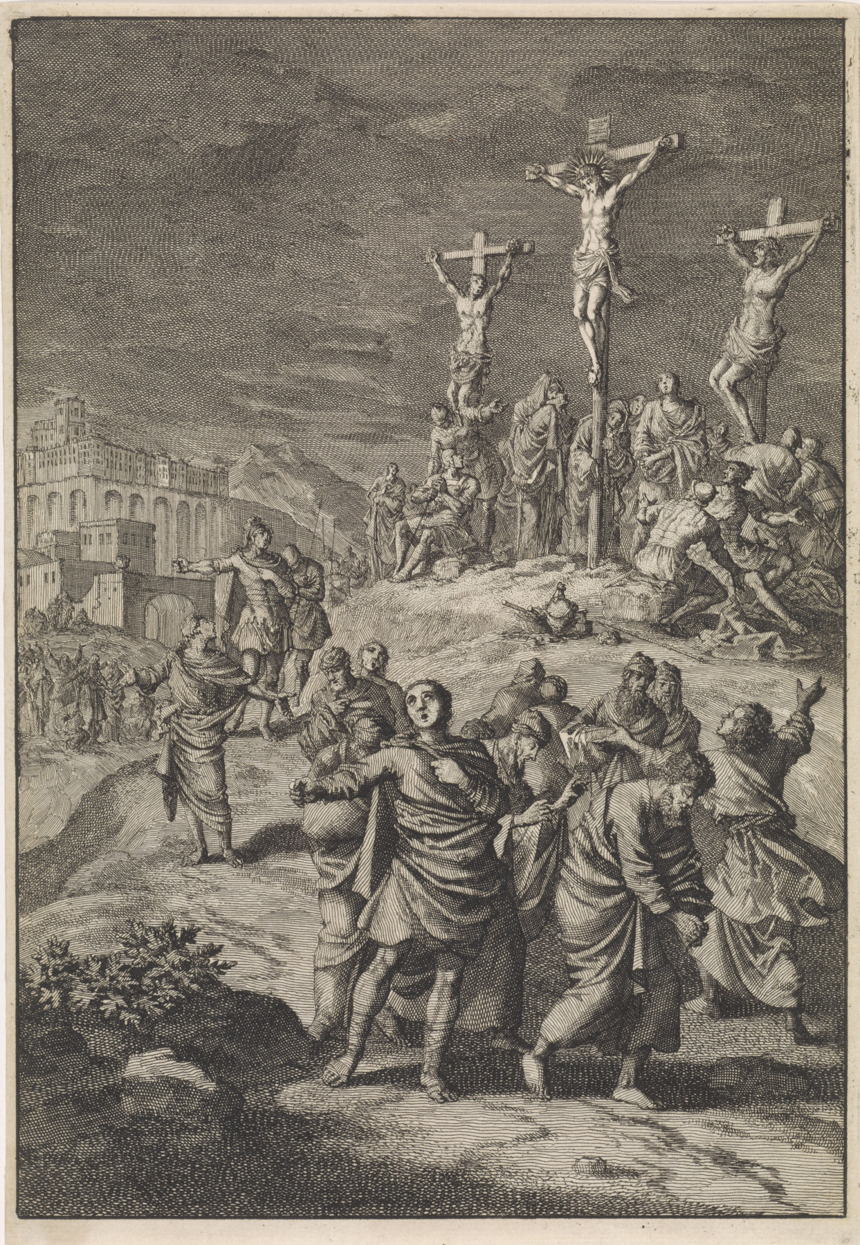 Jan Leuken. Solar eclipse at the time of Christ's death