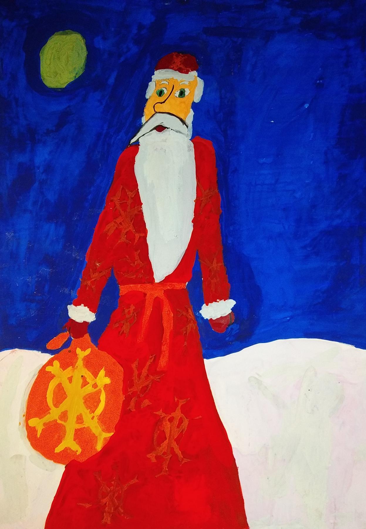Zina Vladimirovna Parisva. Santa Claus