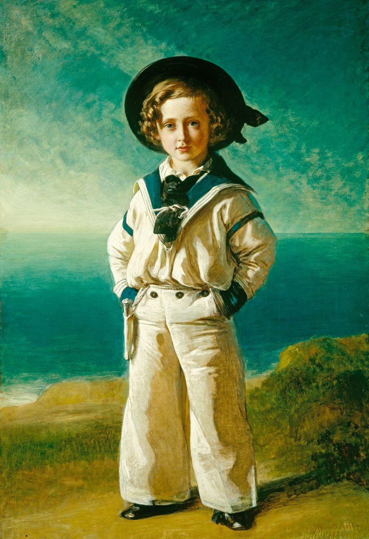 Franz Xaver Winterhalter. Albert Edward Prince of Wales, future king Edward VII