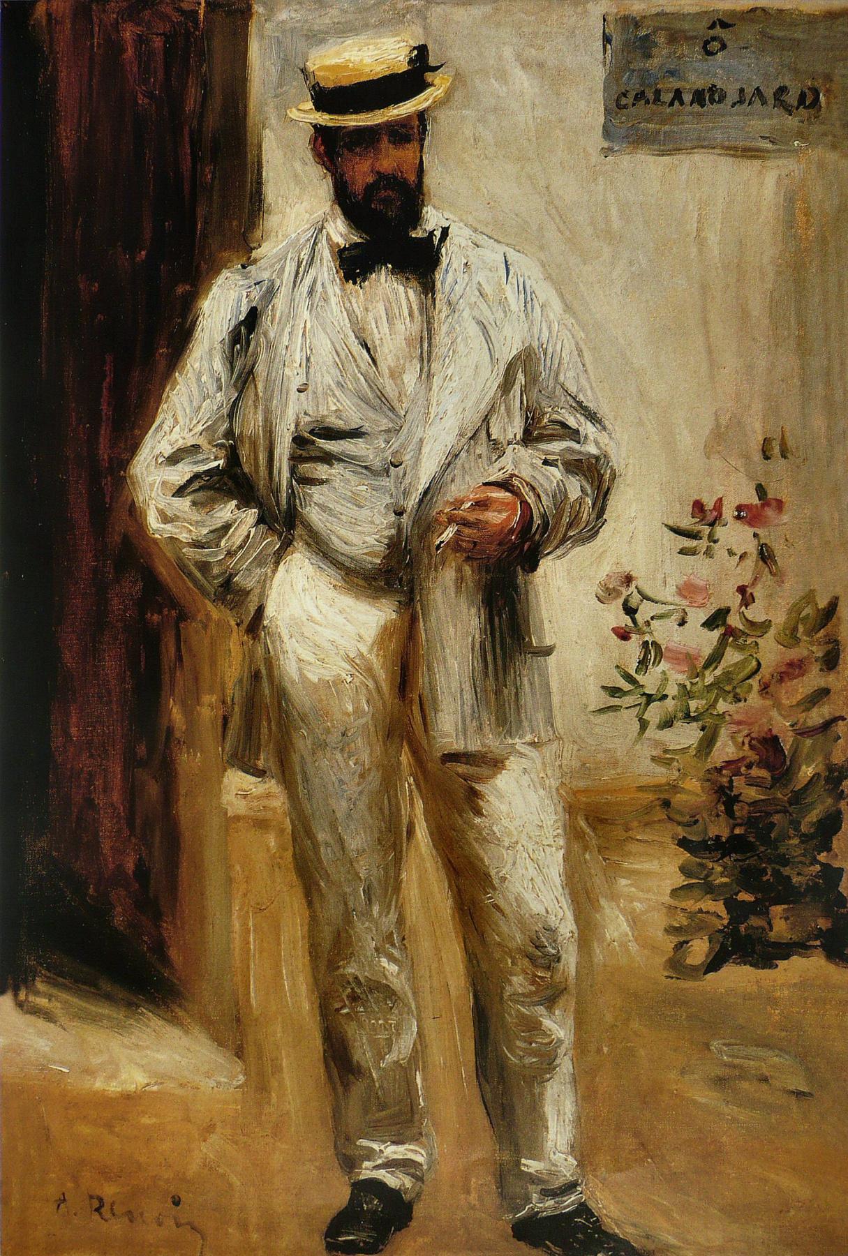 Pierre-Auguste Renoir. Portrait of Charles Le Coeur
