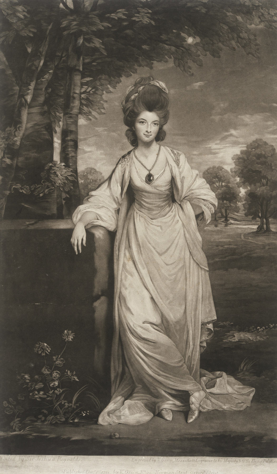 Valentine Green. Lady Elizabeth Compton (after Joshua Reynolds)
