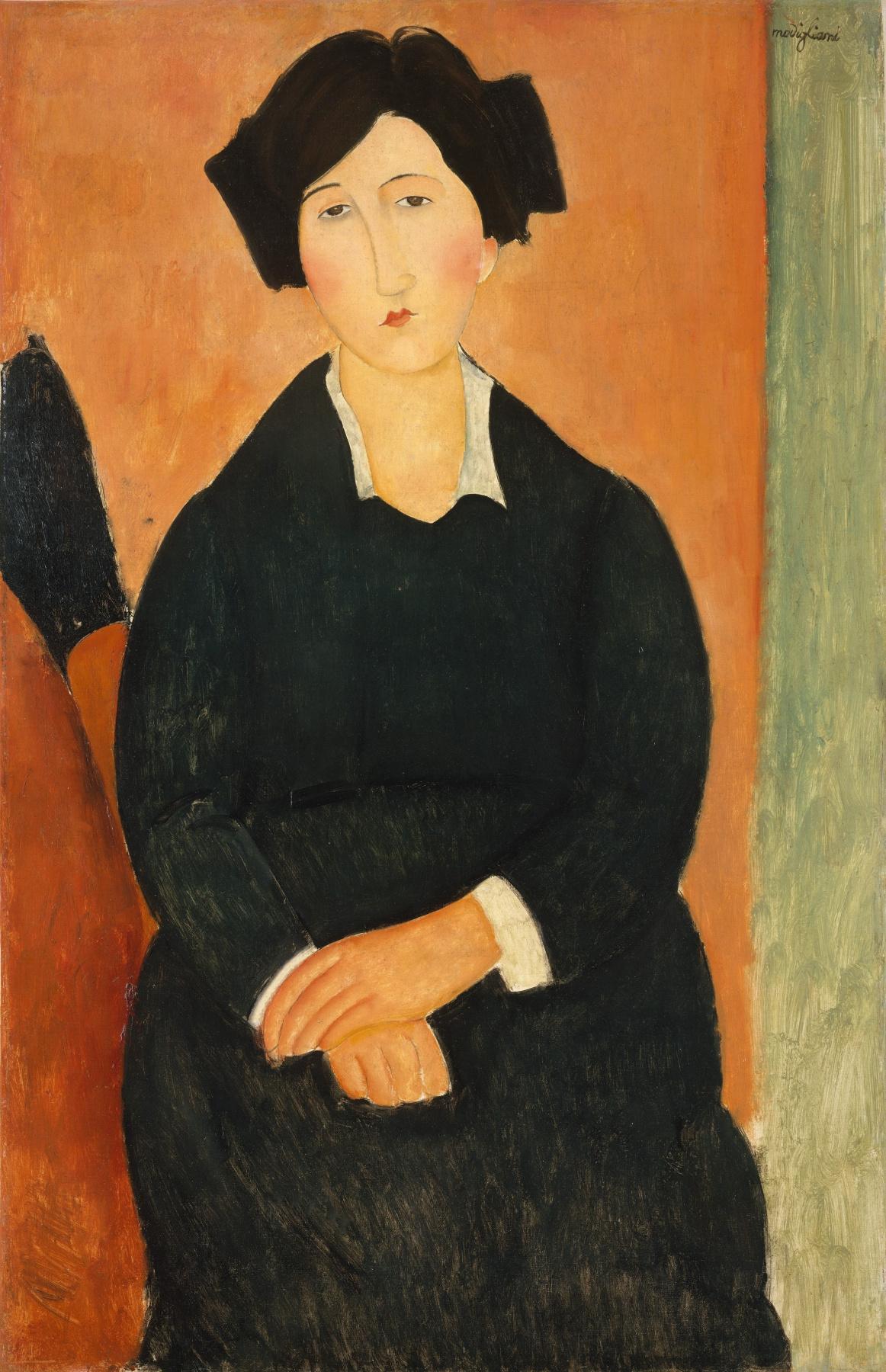 Amedeo Modigliani. Italian woman