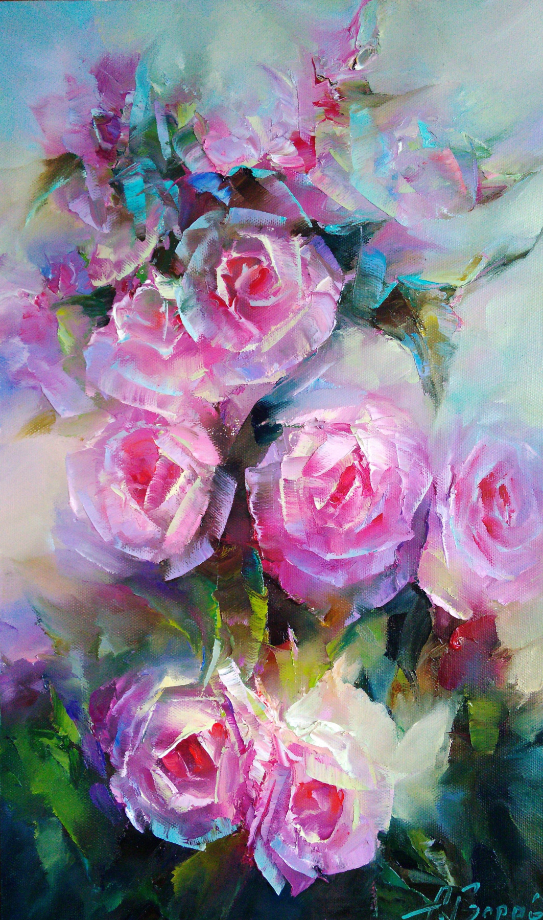 Andrei Ivanovich Boravik. Roses of may