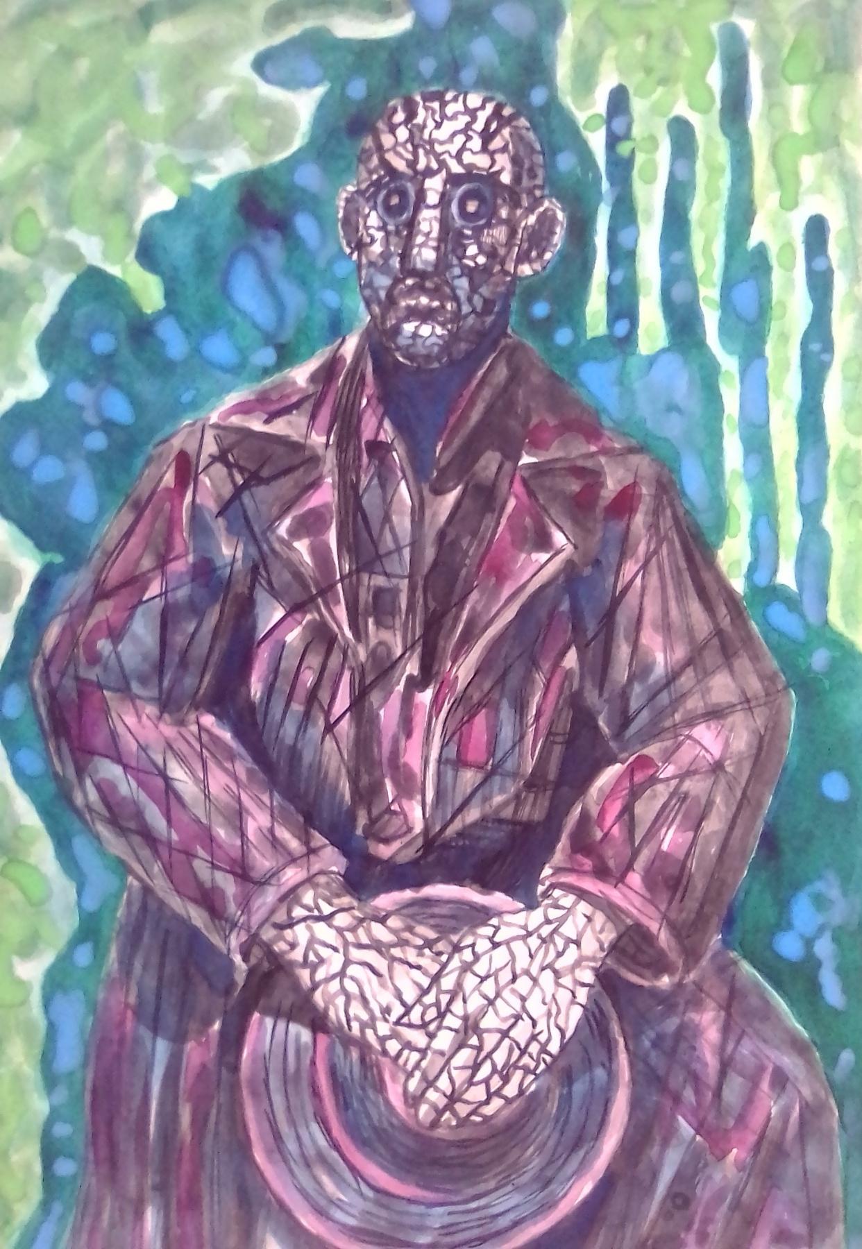 Вячеслав Коренев. Male figure