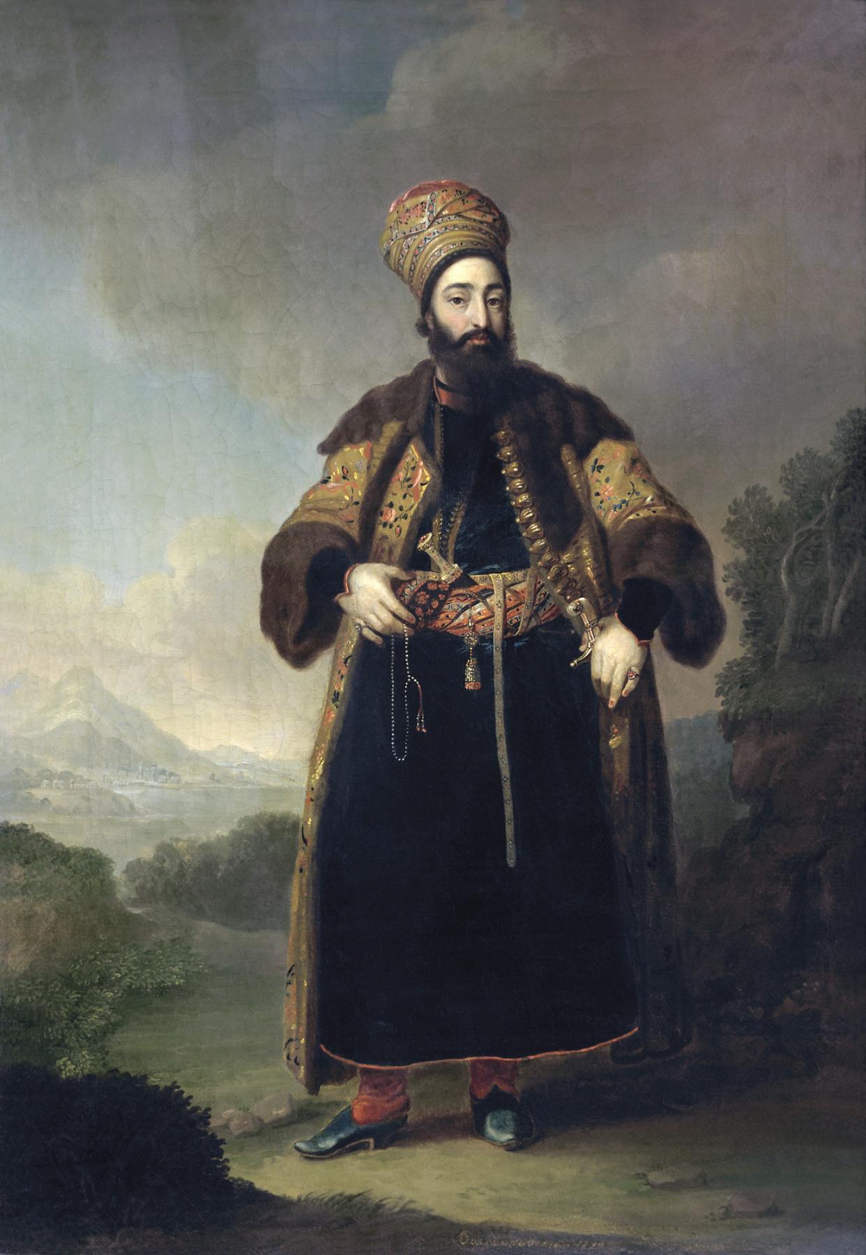 Vladimir Borovikovsky. Portrait of Murtaza-Kuli-Khan