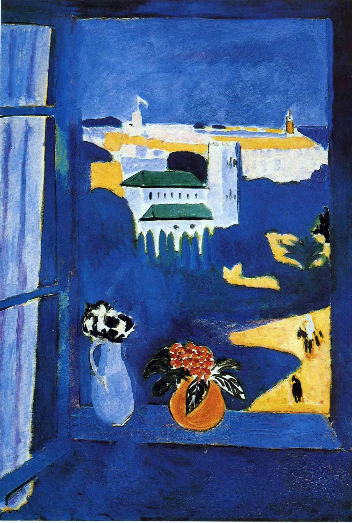 Henri Matisse. Window at Tangier