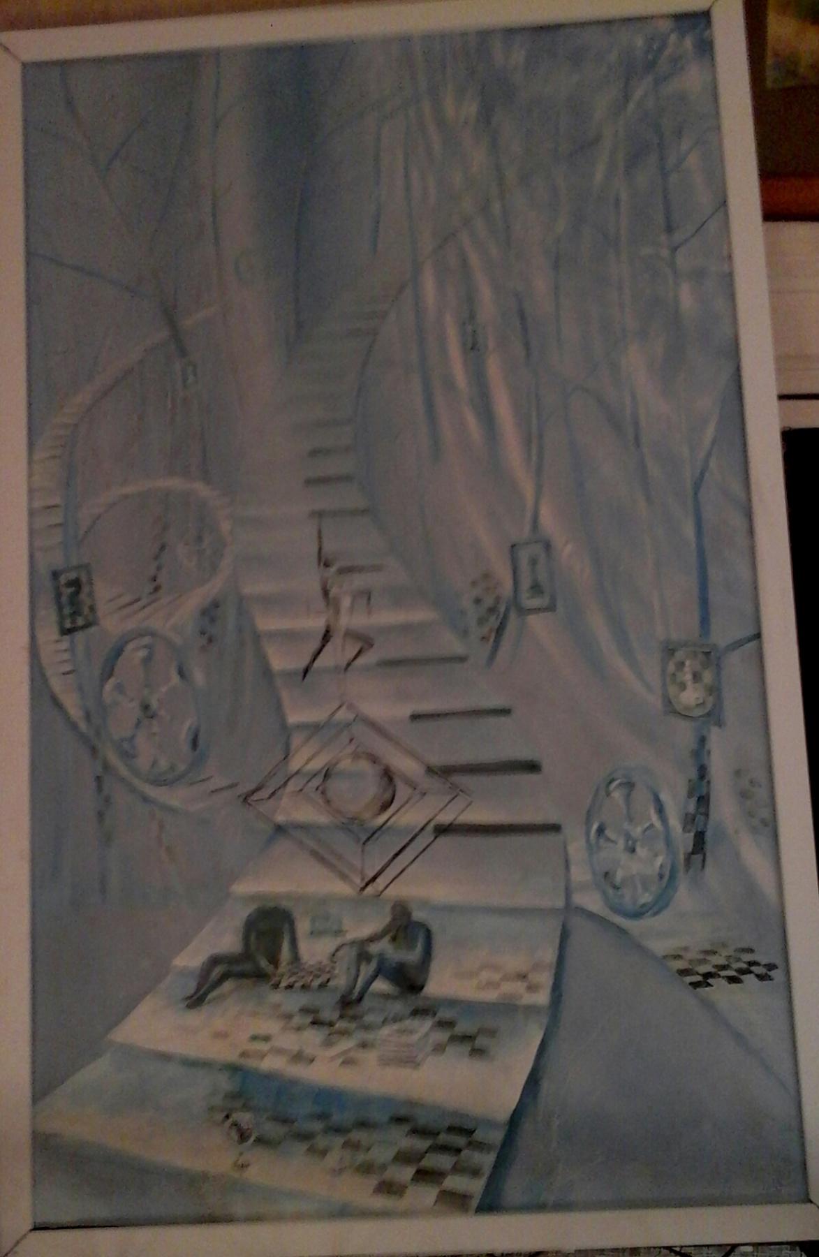 VALERY Viktorovich Shechkin. Stairs