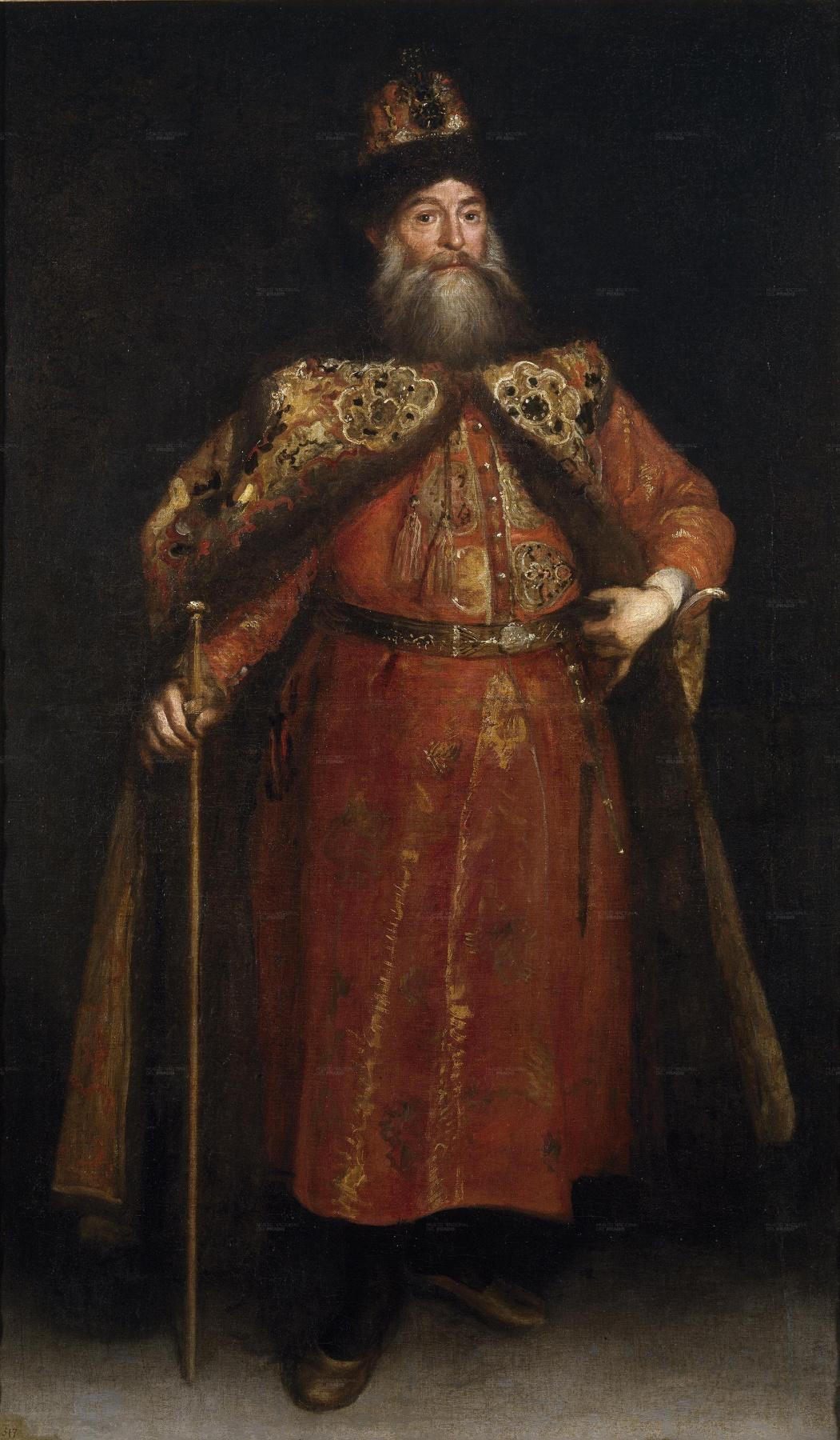 Juan Carreno de Miranda. Портрет русского посла Петра Ивановича Потемкина