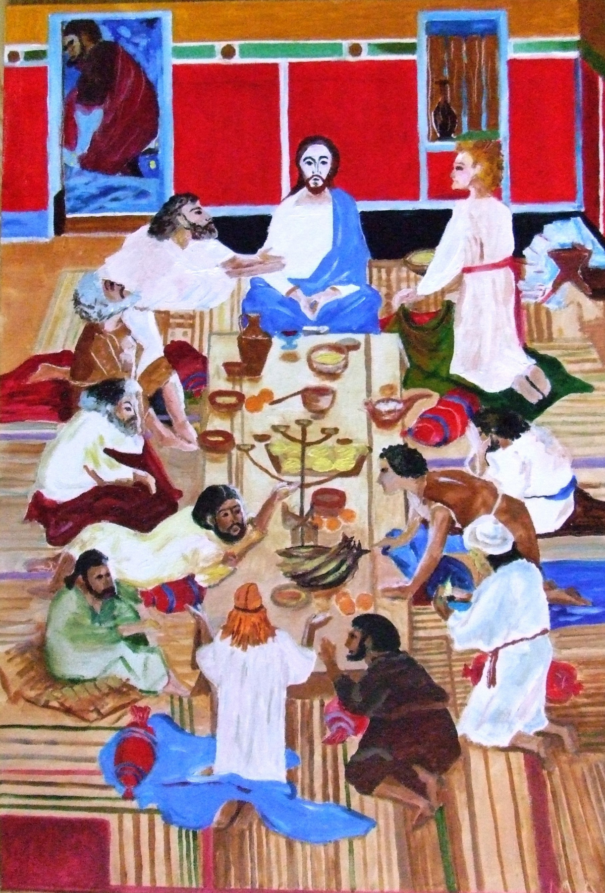 Anatoly Murzaev. The last supper by D. D. Zhilinsky