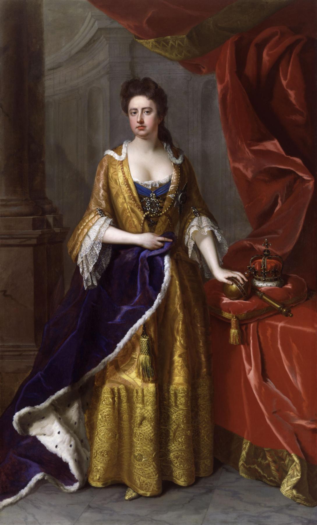 Michael dahl. Anna Stuart, Queen of England