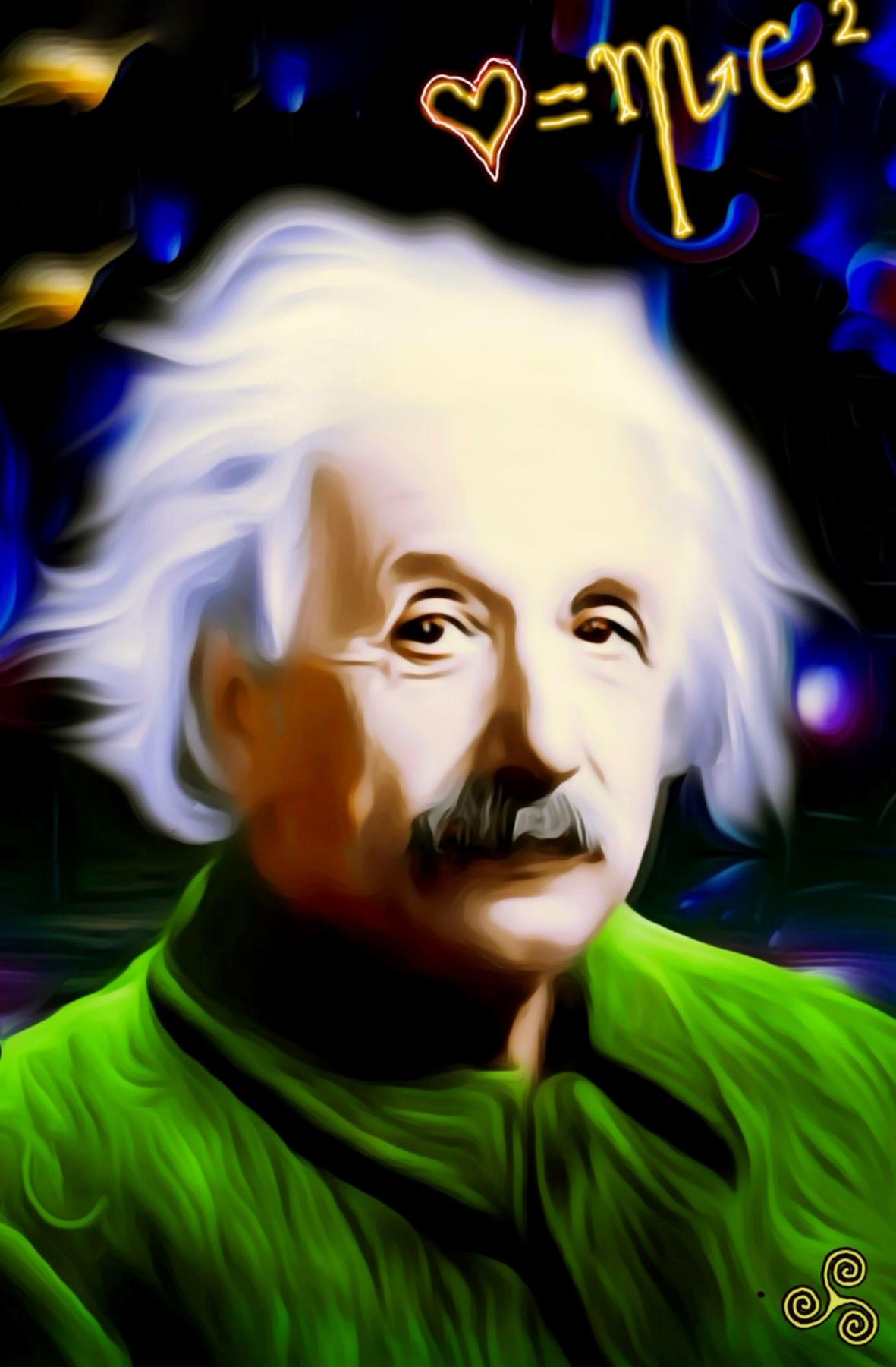 Denis Sergeyevich Ismailov. Venerable Albert Einstein