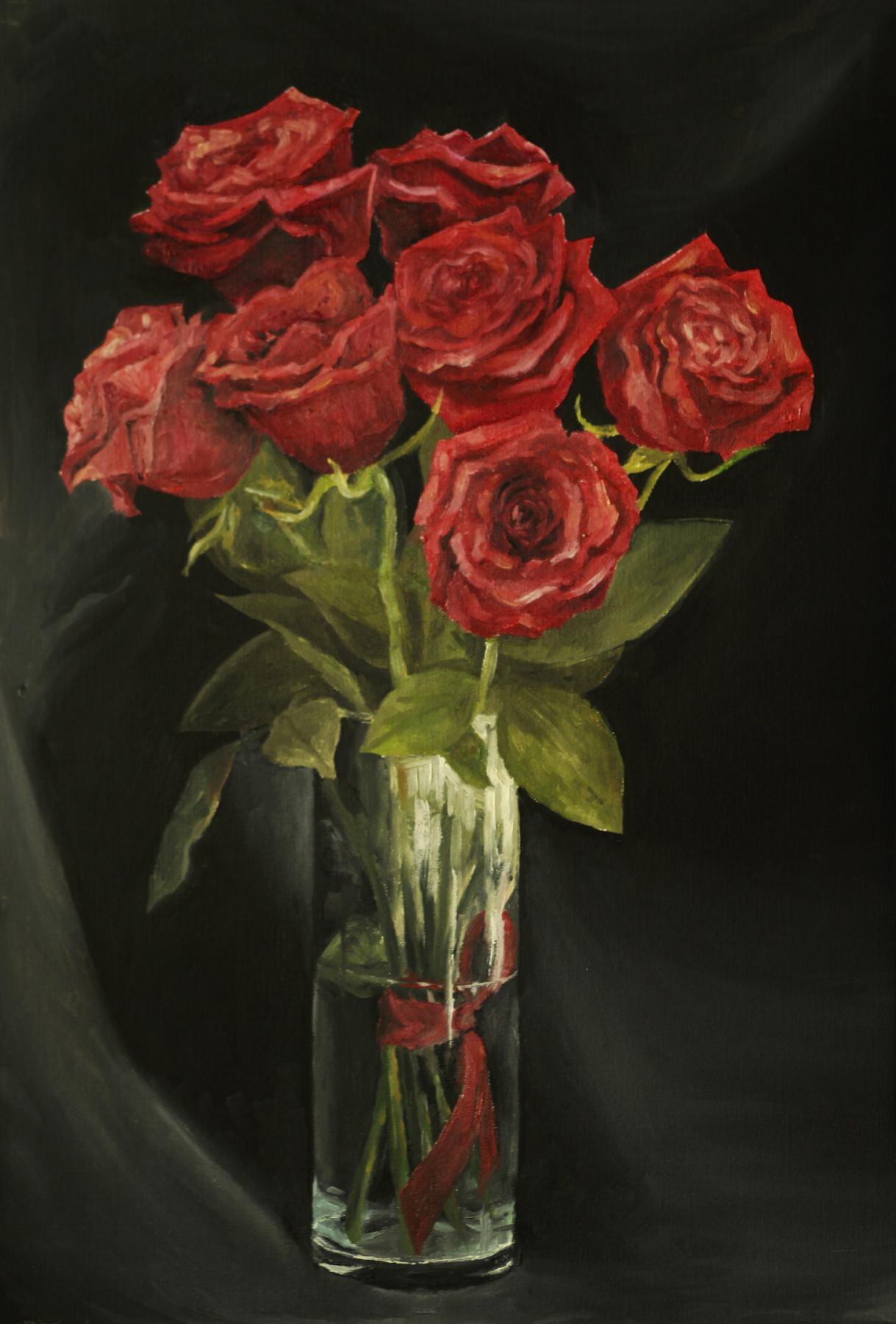 Виктория Маркова. «Алые розы»