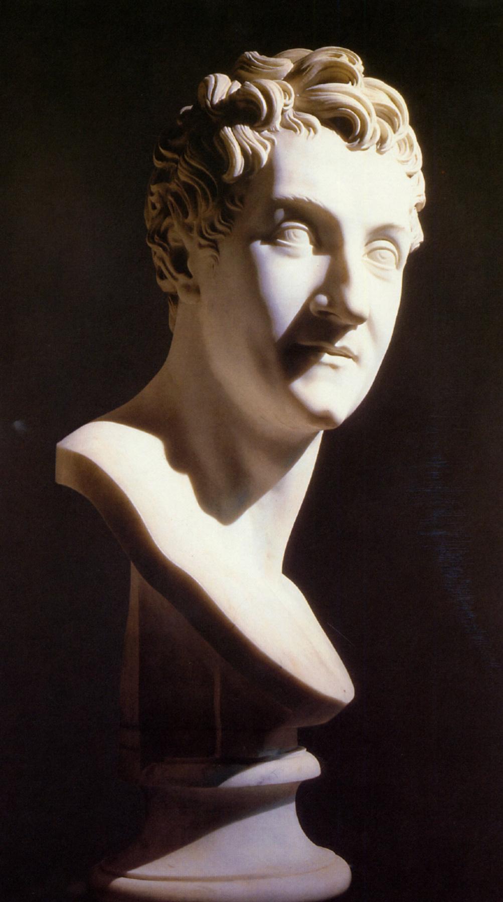 Antonio Canova. Portrait Of Leopold Signora