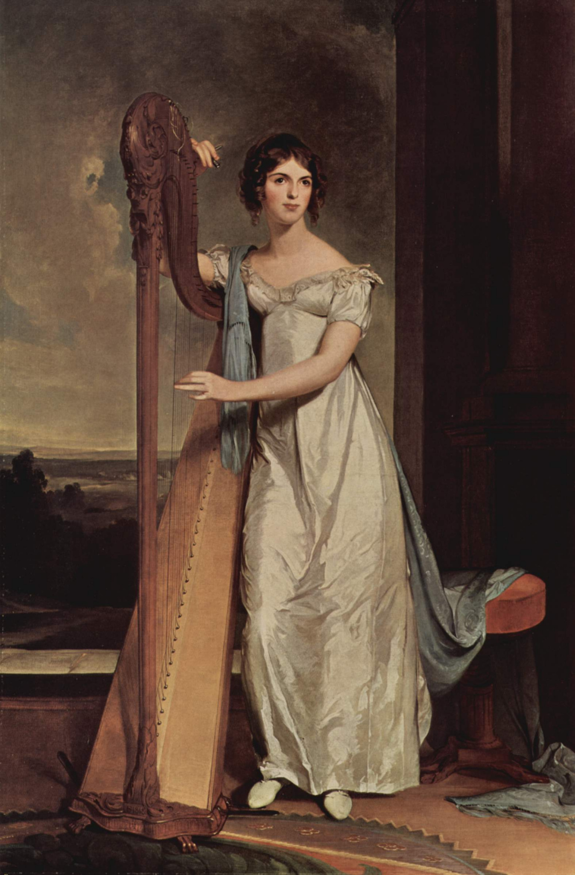 Thomas Sally. The lady with the harp