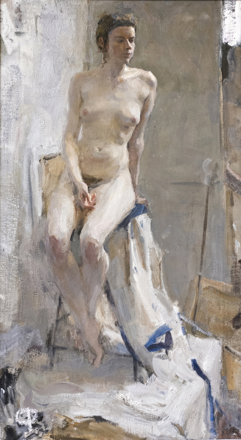 Samir Rakhmanov. Nude Model in Contre Jour