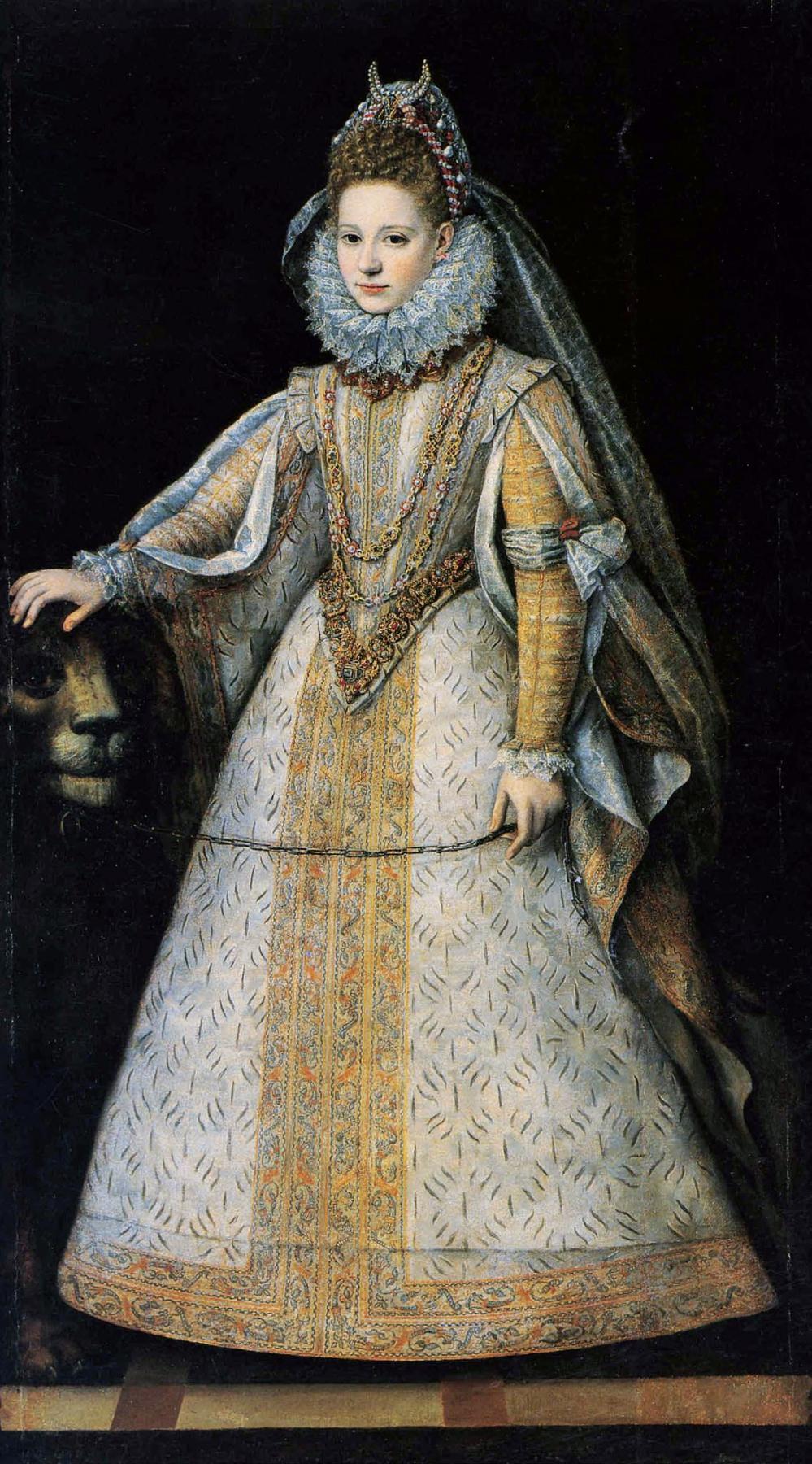 Sofonisba Angisola. Portrait of Marguerite di Savoia