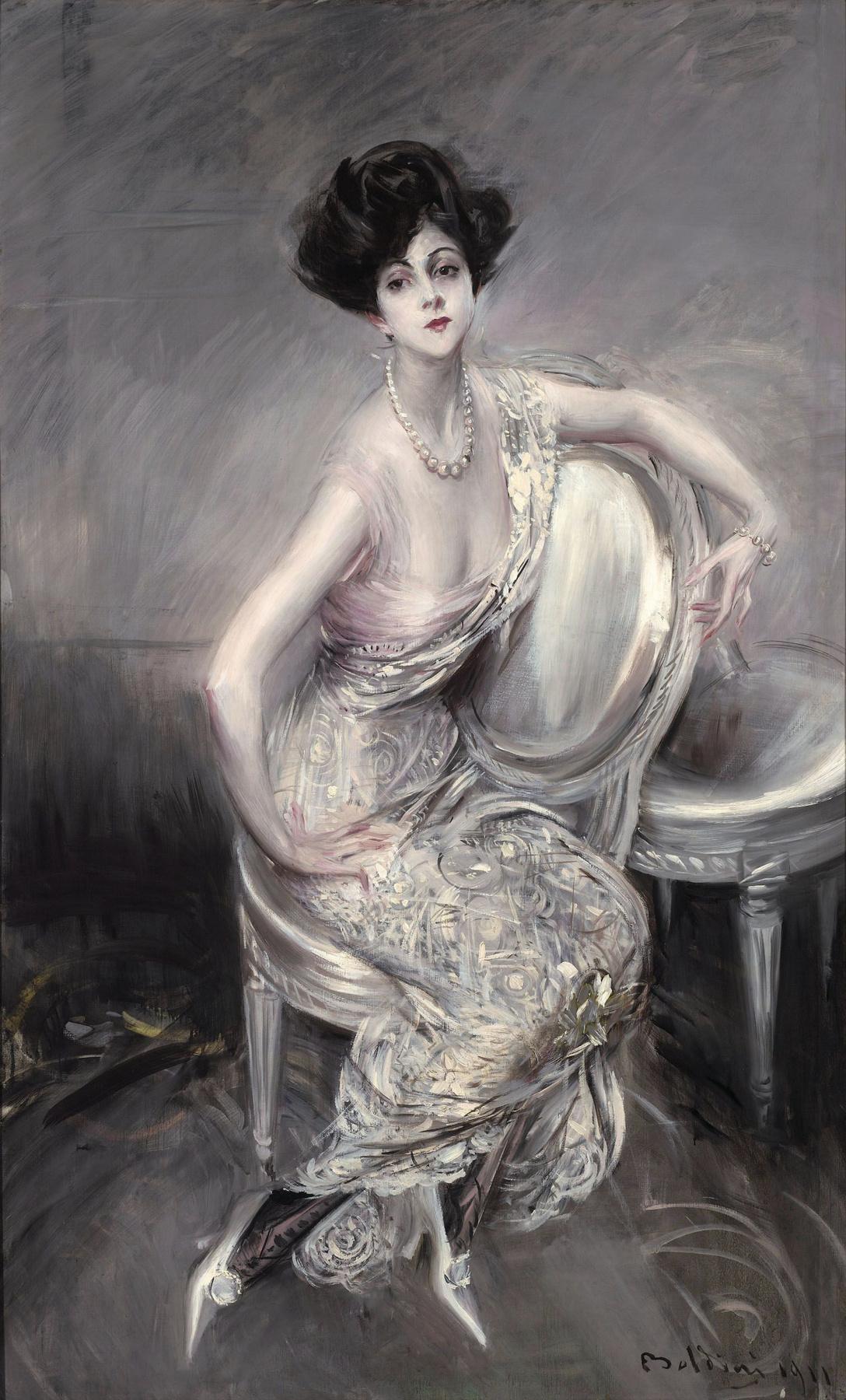 Giovanni Boldini. Portrait of Rita de Acosta Lidige