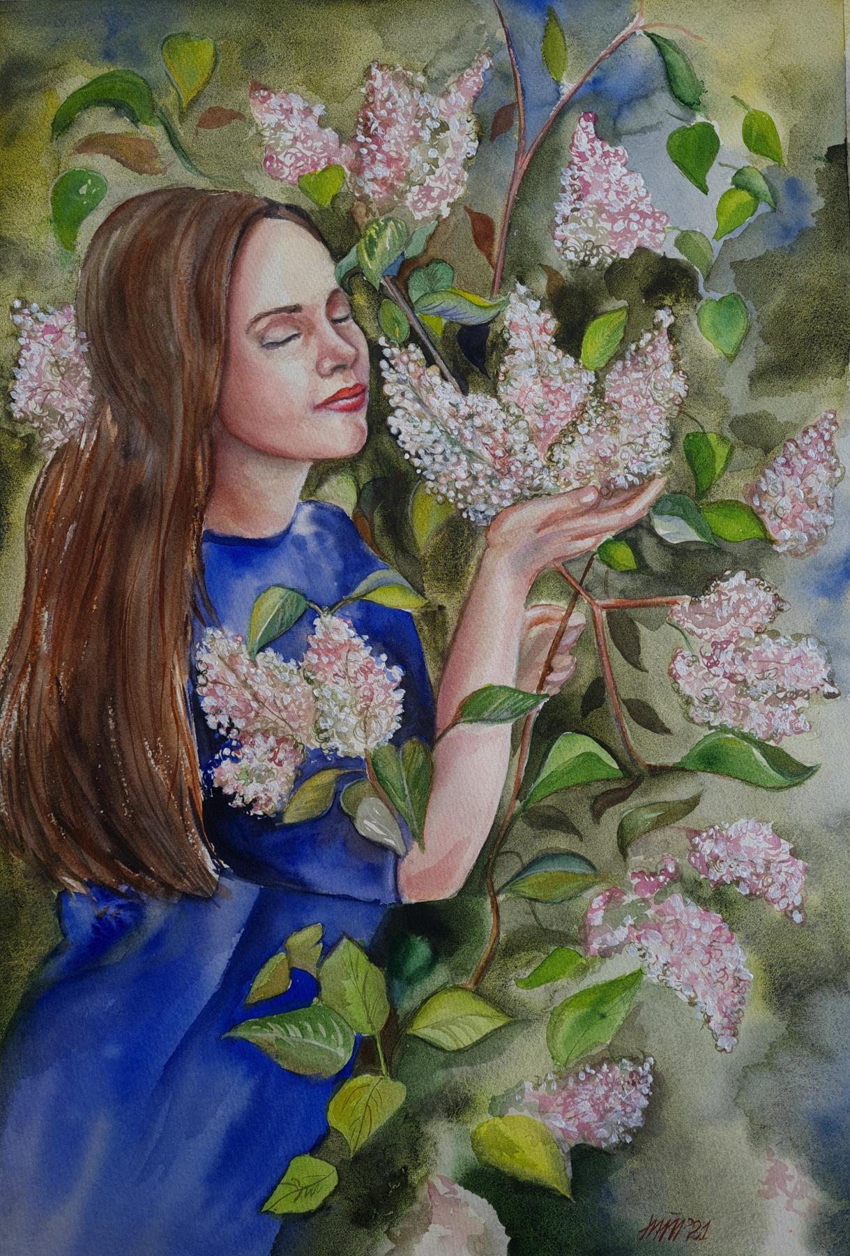 Marina Tumilovich. Spring awakening