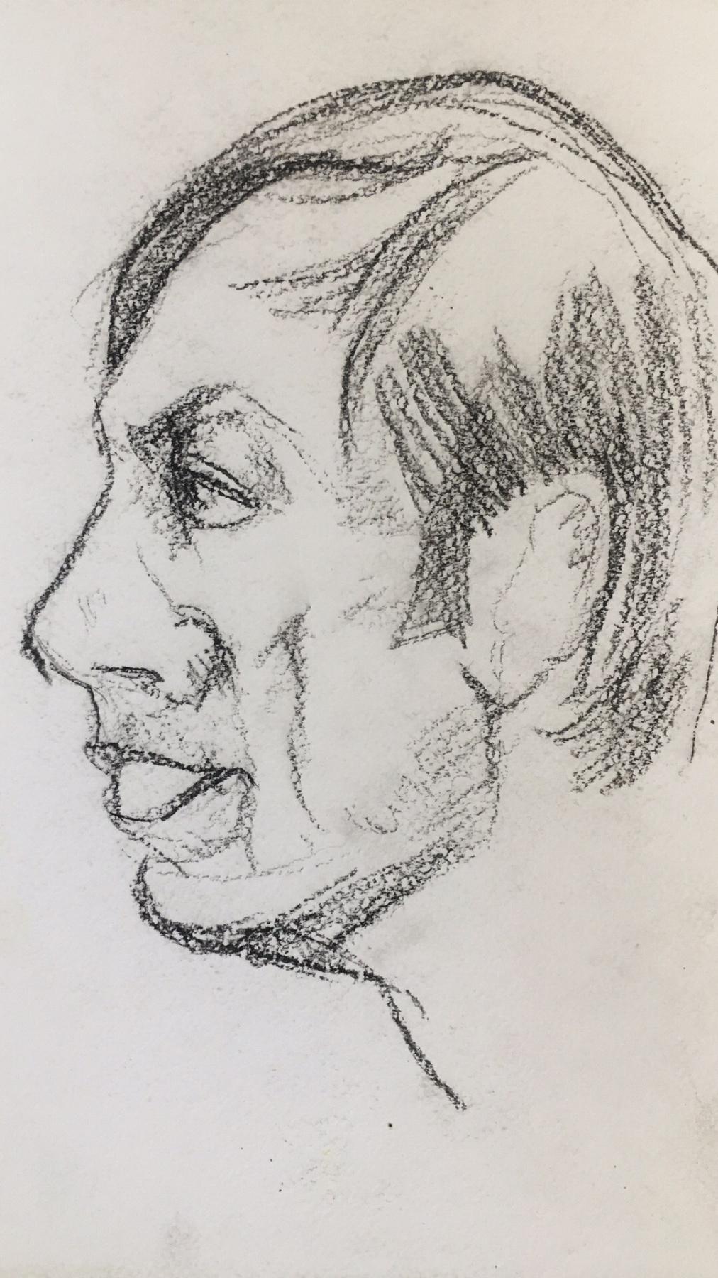 Nikolay Karpetsky. Portrait of Dmitry's son