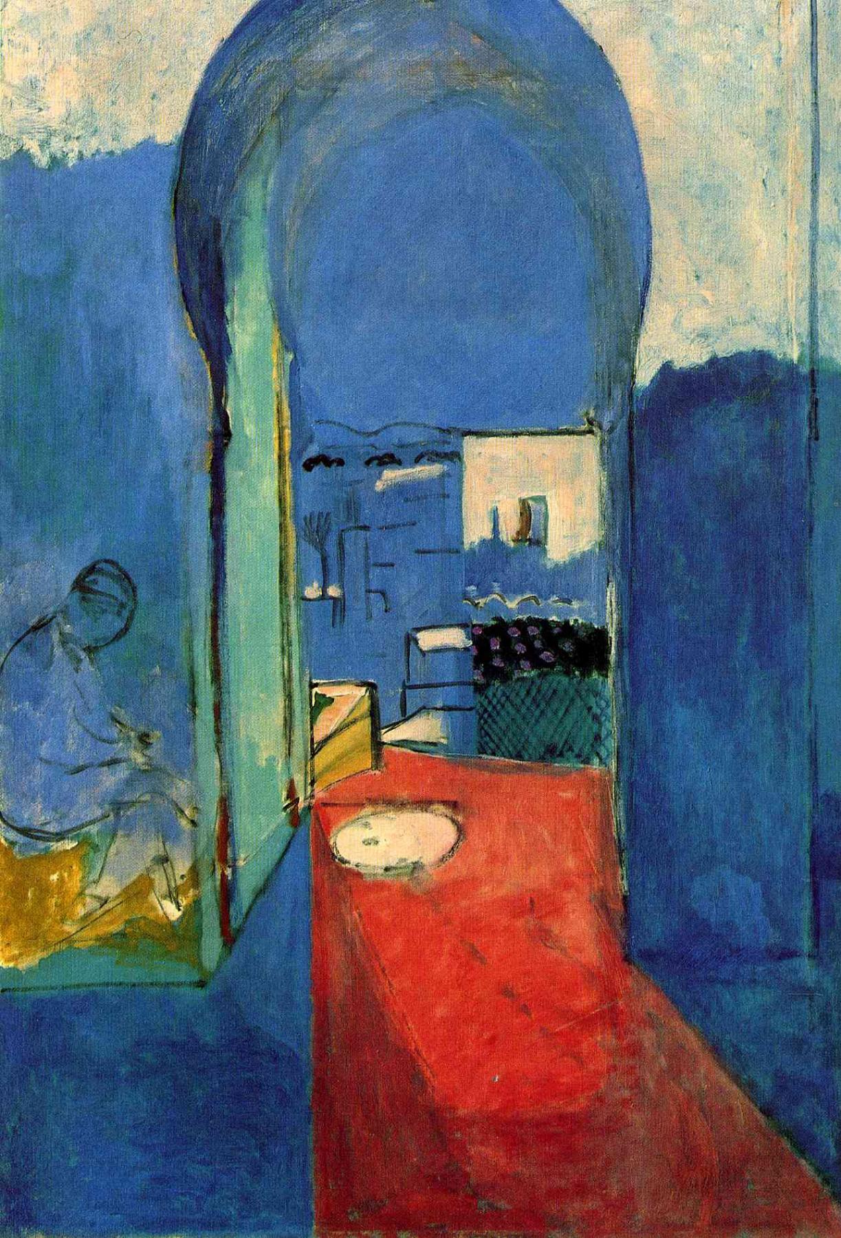Henri Matisse. Entrance to the Kasbah