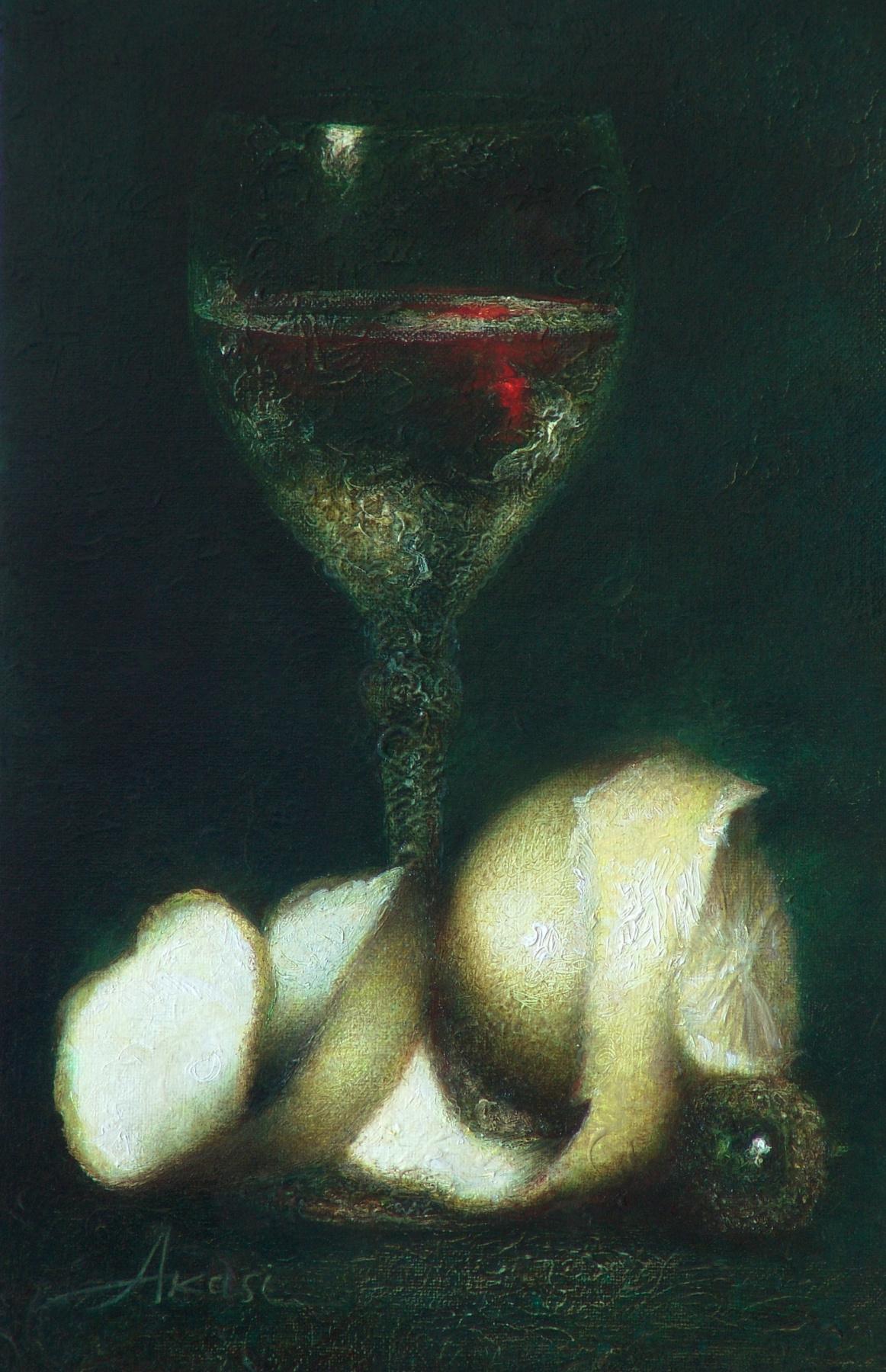 Ольга Акаси. Wine and Painting
