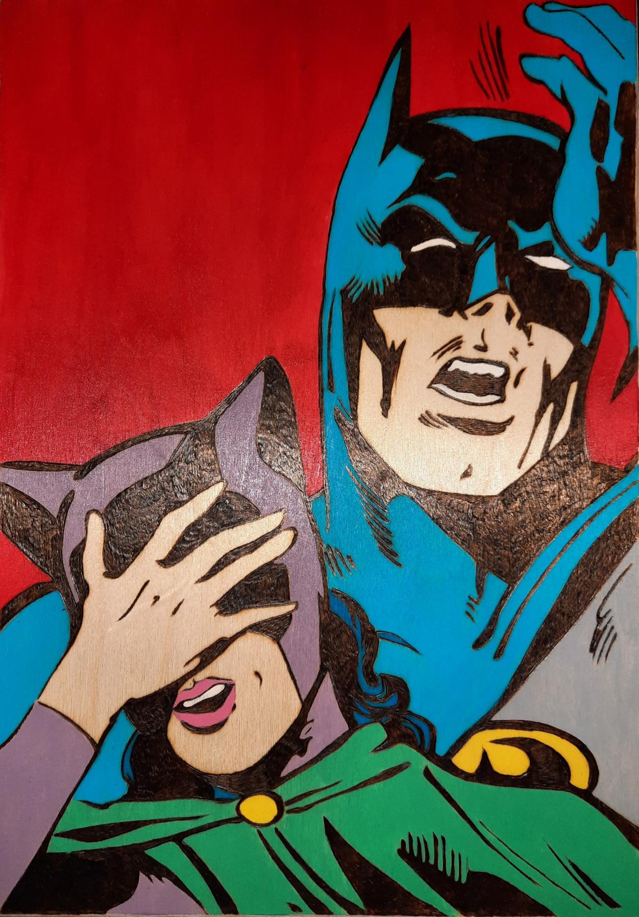 Ангелина Андреевна Гладышева. Catwoman and batman