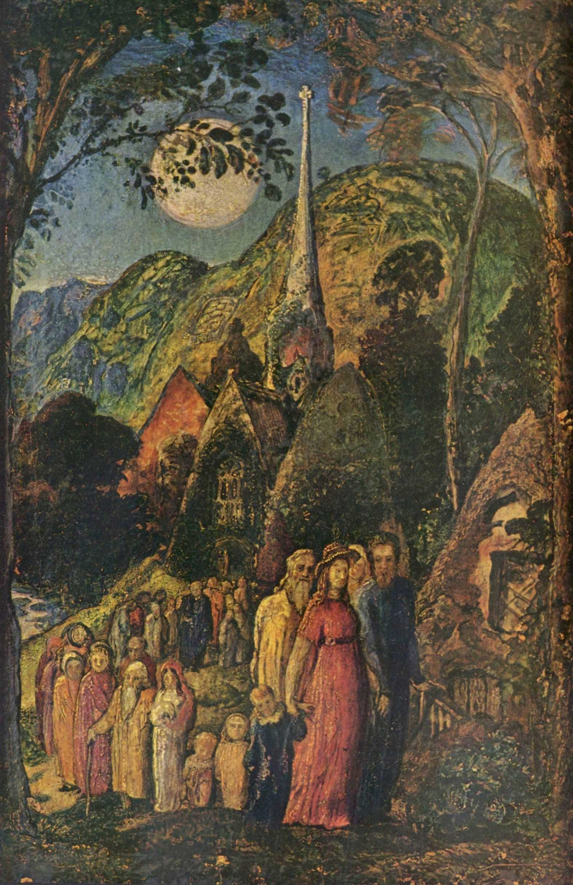 Samuel Palmer. From the supper